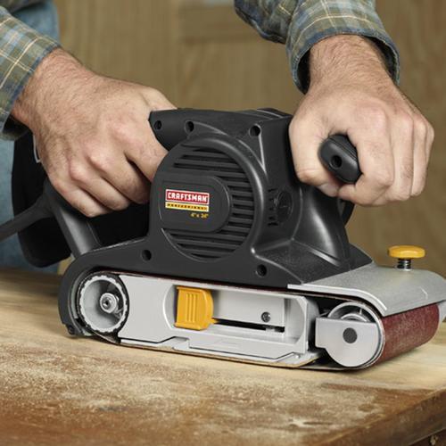 """Craftsman Professional 26819 11 amp Corded 4"""" x 24"""" Belt Sander"""