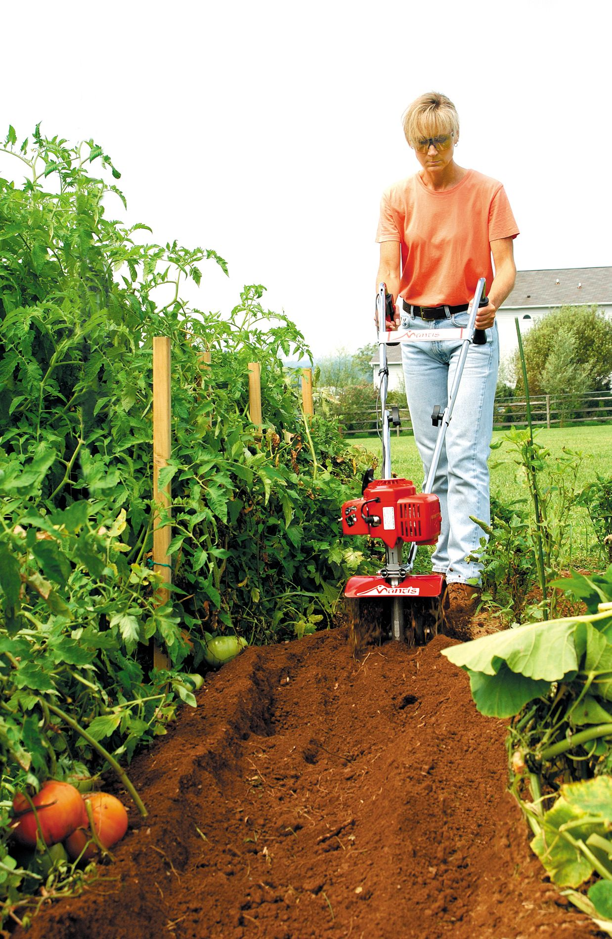 Mantis 2-Cycle Gas Mini Tiller/Cultivator