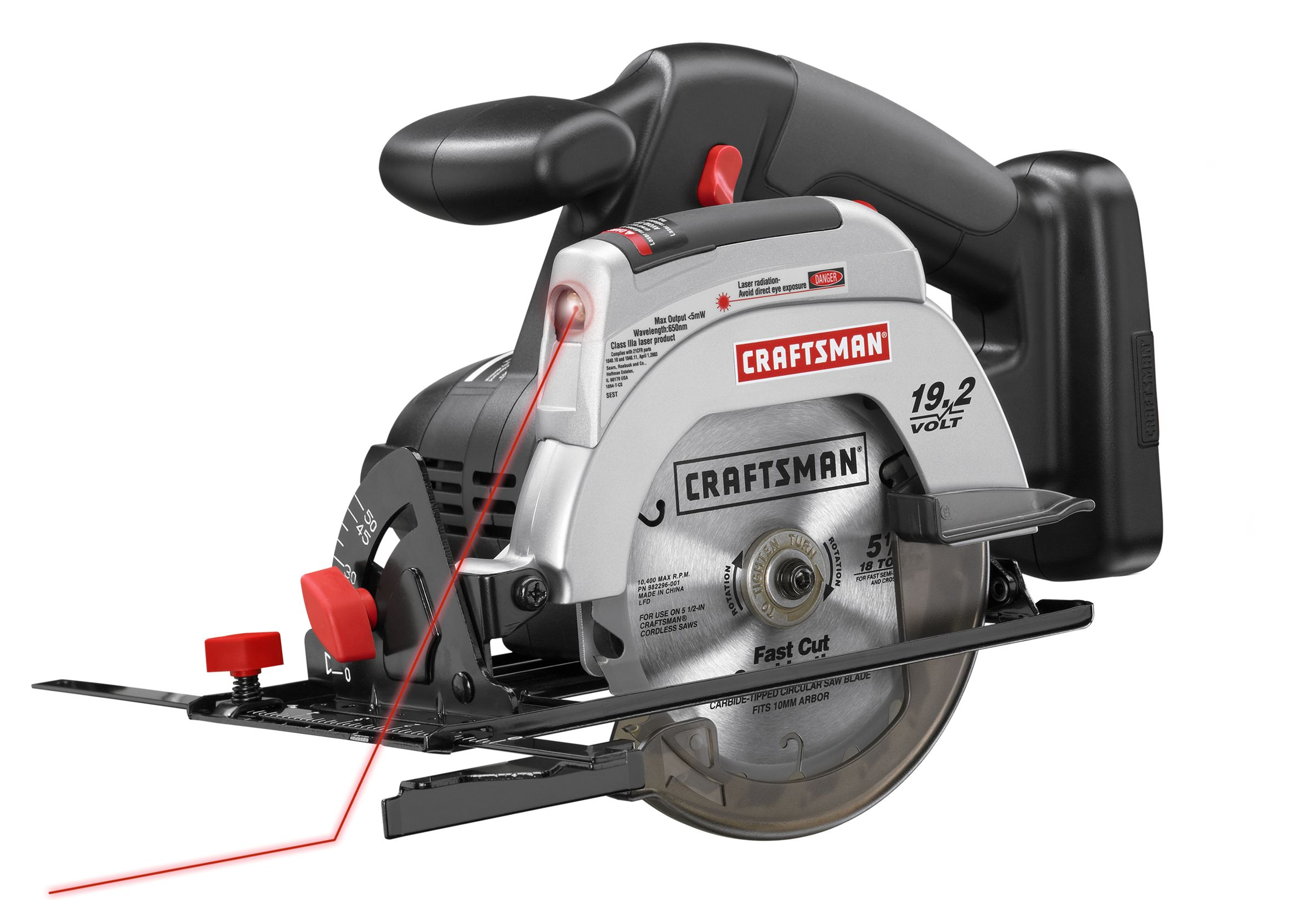 Craftsman C3 19.2 Volt Cordless 5 1/2 inch Trim Saw