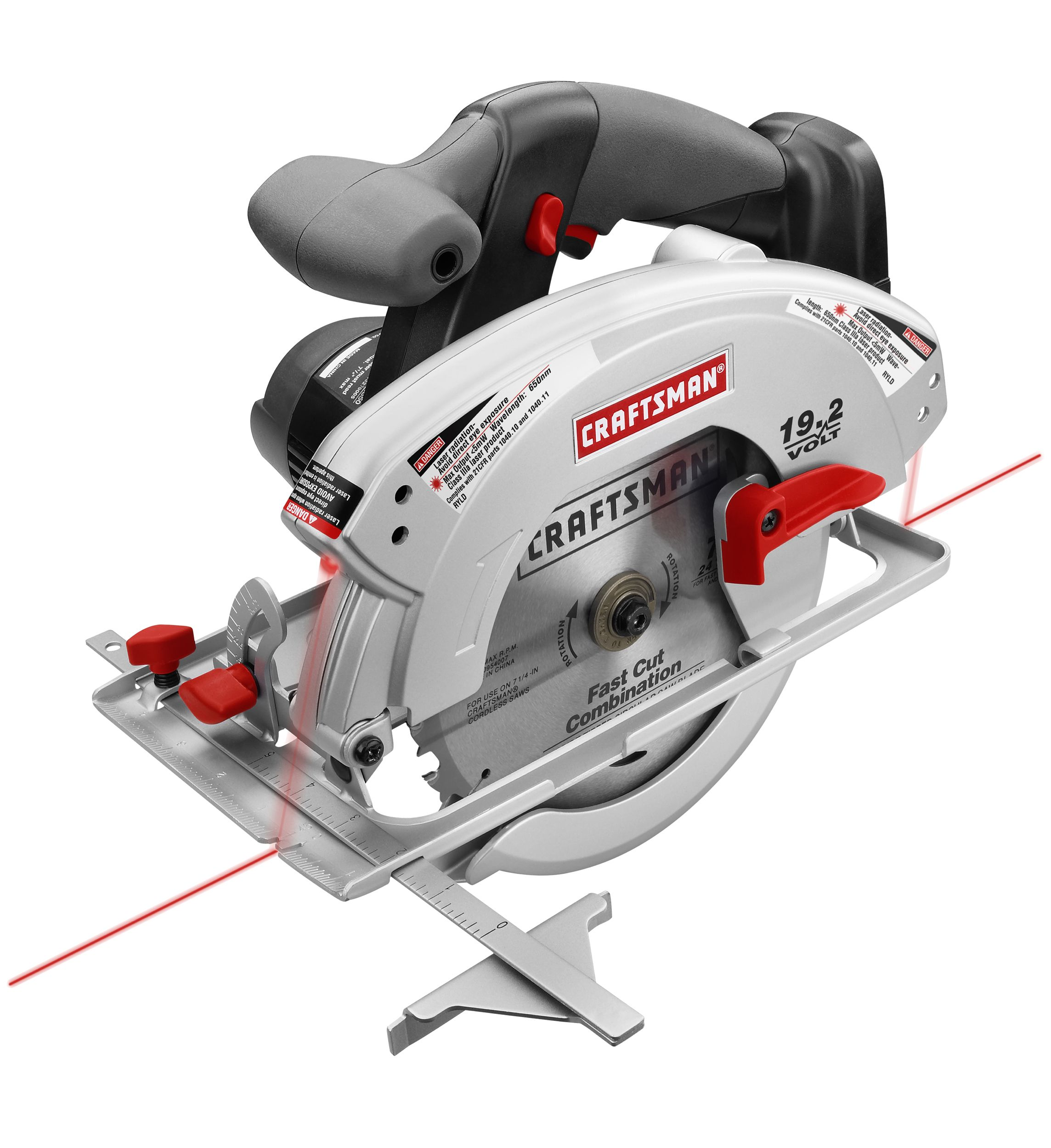 Craftsman C3 19.2 volt 7-1/4 Circular Saw with Laser