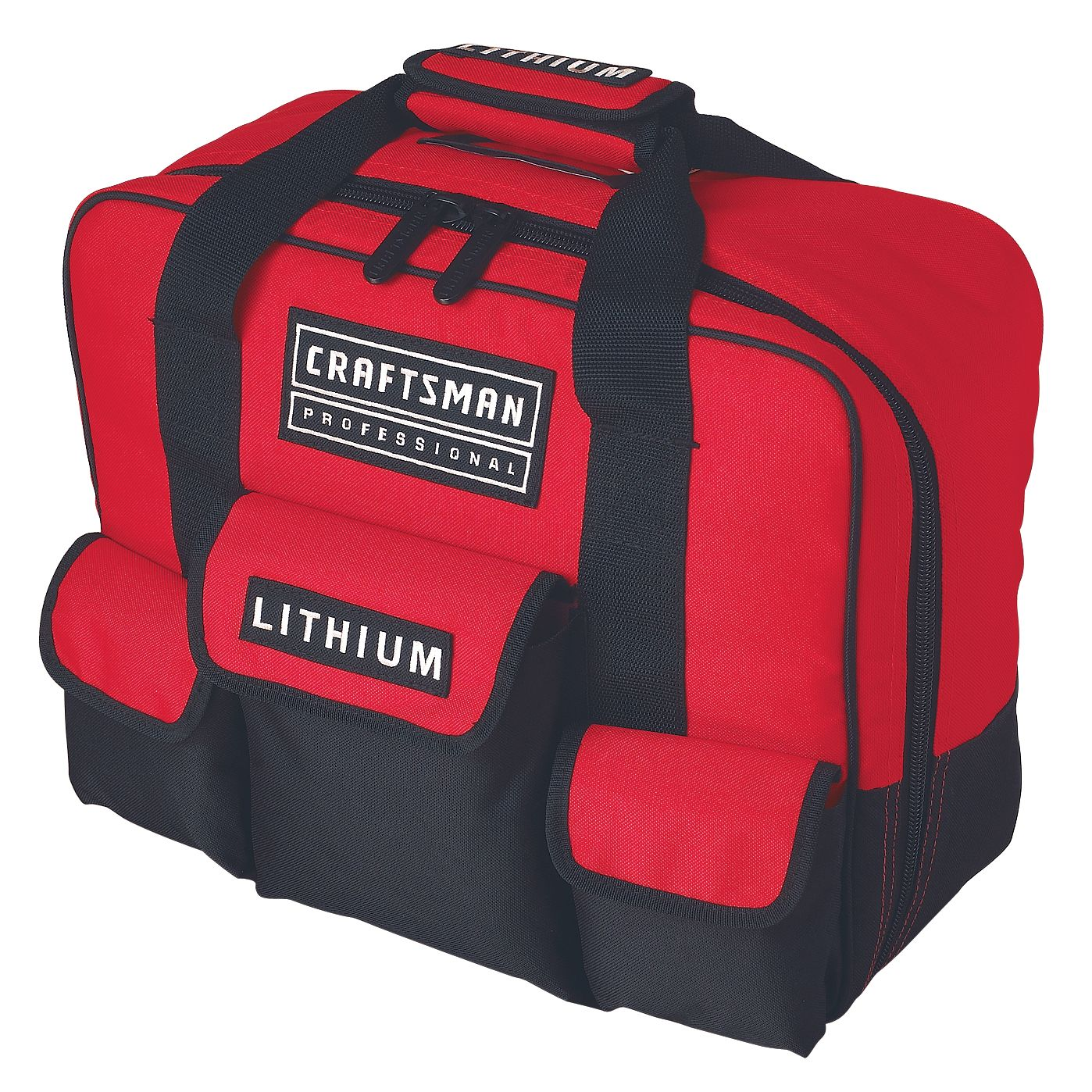 "Craftsman Professional 28169 20-volt Lithium-Ion Cordless 1/2"" Drill/Driver with Contractor Utility Bag"