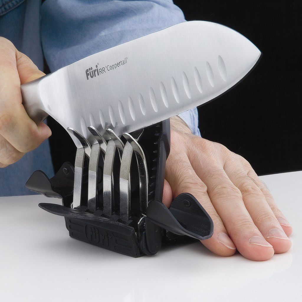 Rachael Ray Ozitech™ Diamond Fingers Pro Knife Sharpener