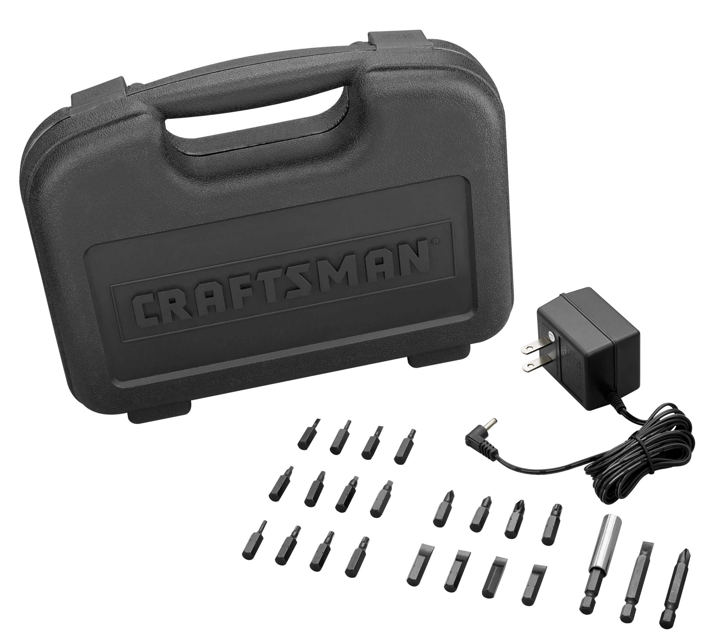 Craftsman 11779 7.2-volt Ni-Cd Cordless Screwdriver with Bit Set