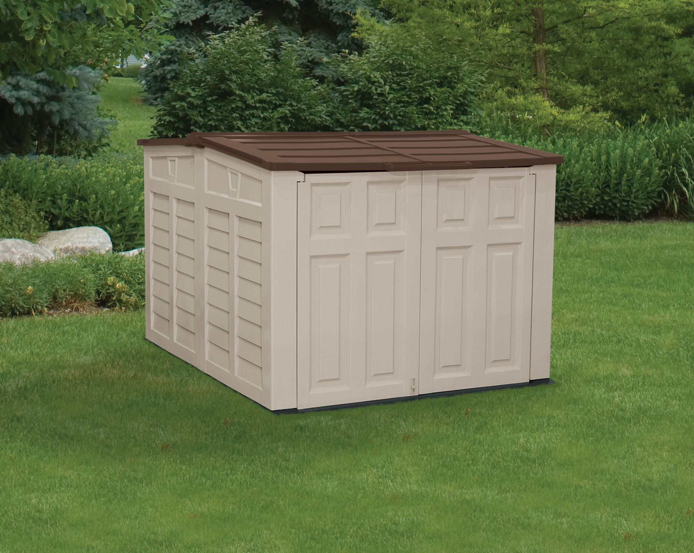 Suncast Low Profile Storage Shed