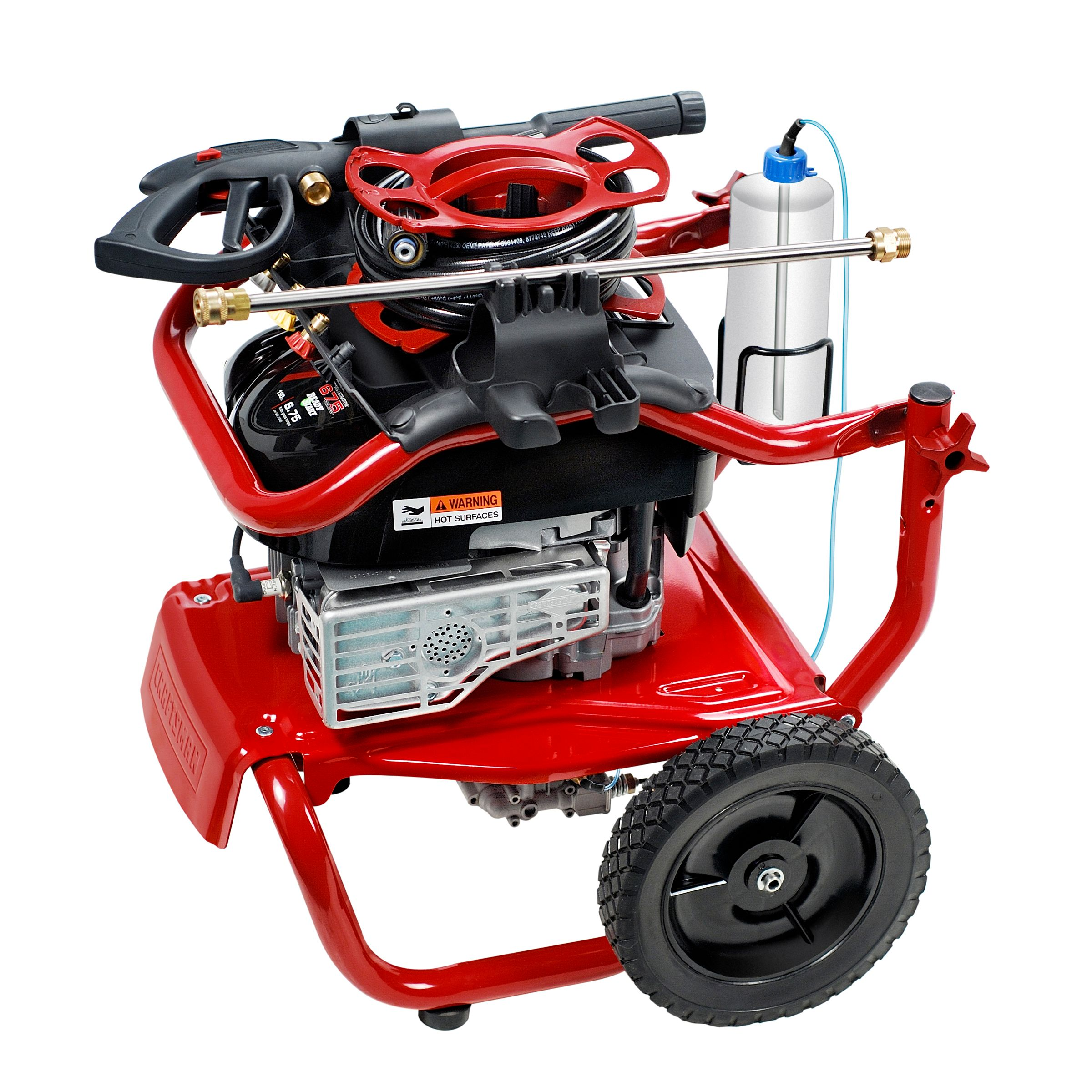 Craftsman 2550 MAX PSI, 2.3 MAX GPM, Briggs & Stratton Powered Pressure Washer