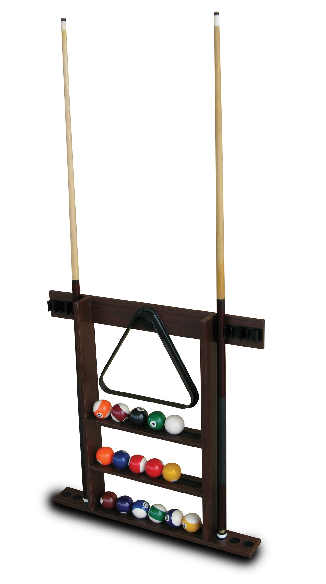 Sportcraft 90in Kingsford Billiard Table with Cue Rack