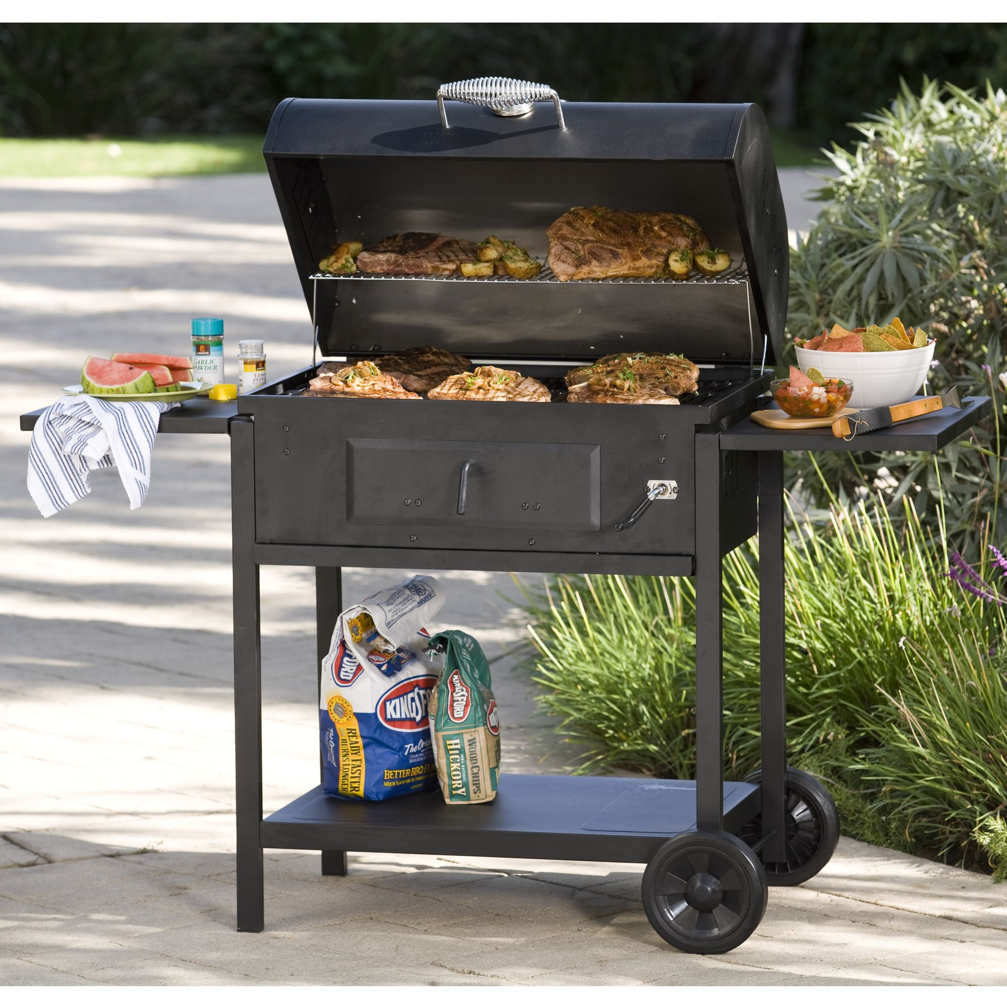 Masterbuilt 10040310 Deluxe Full Size Charcoal Grill