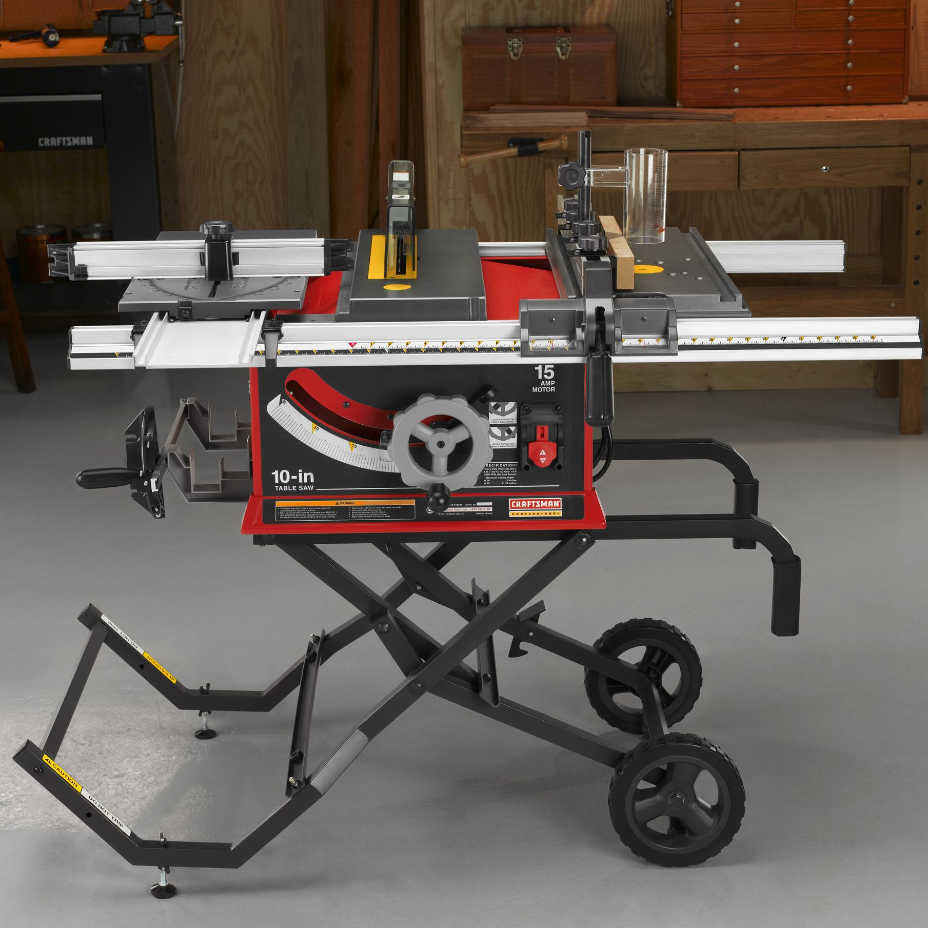 "Craftsman Professional 15 amp 10"" Portable Table Saw 21829"
