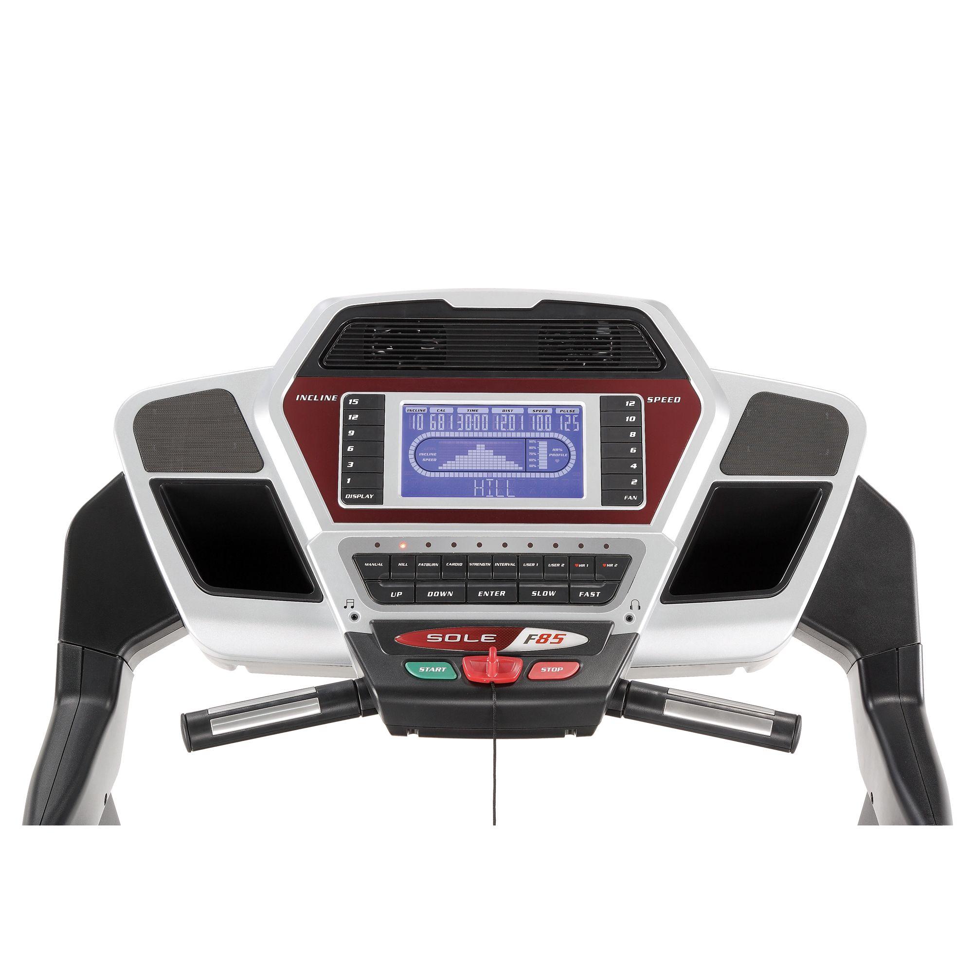 Sole F85 Folding Treadmill