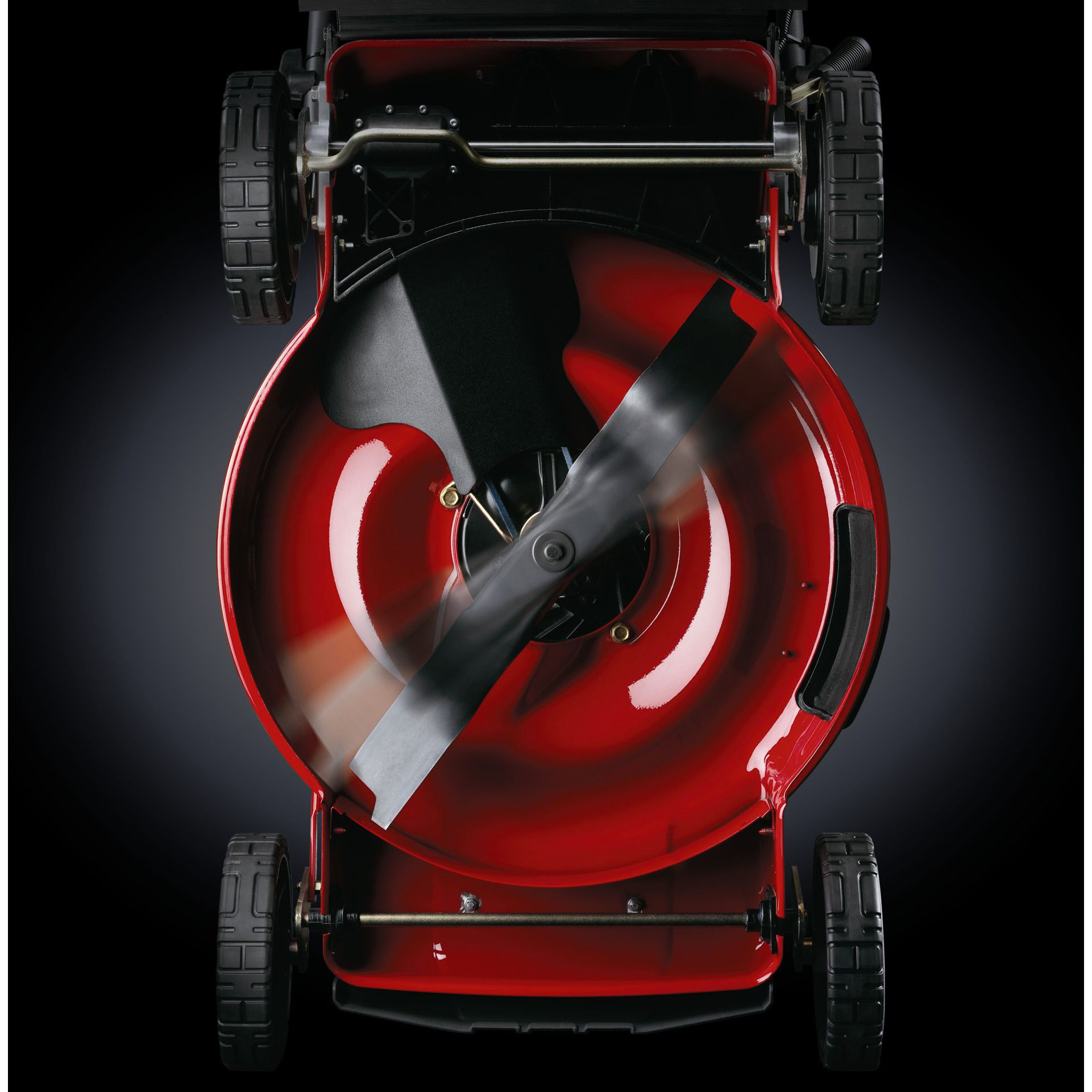 """Snapper 22"""" Front Wheel Drive Self Propelled High Wheel Mower w/ Briggs & Stratton Platinum 7.0 torque engine and REACT™ Drive Sys"""