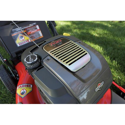 "Snapper 22"" Rear Wheel Drive Self Propelled Mower w/ Briggs & Stratton Platinum 7.0 torque engine and REACT™ Drive System - 49 sta"