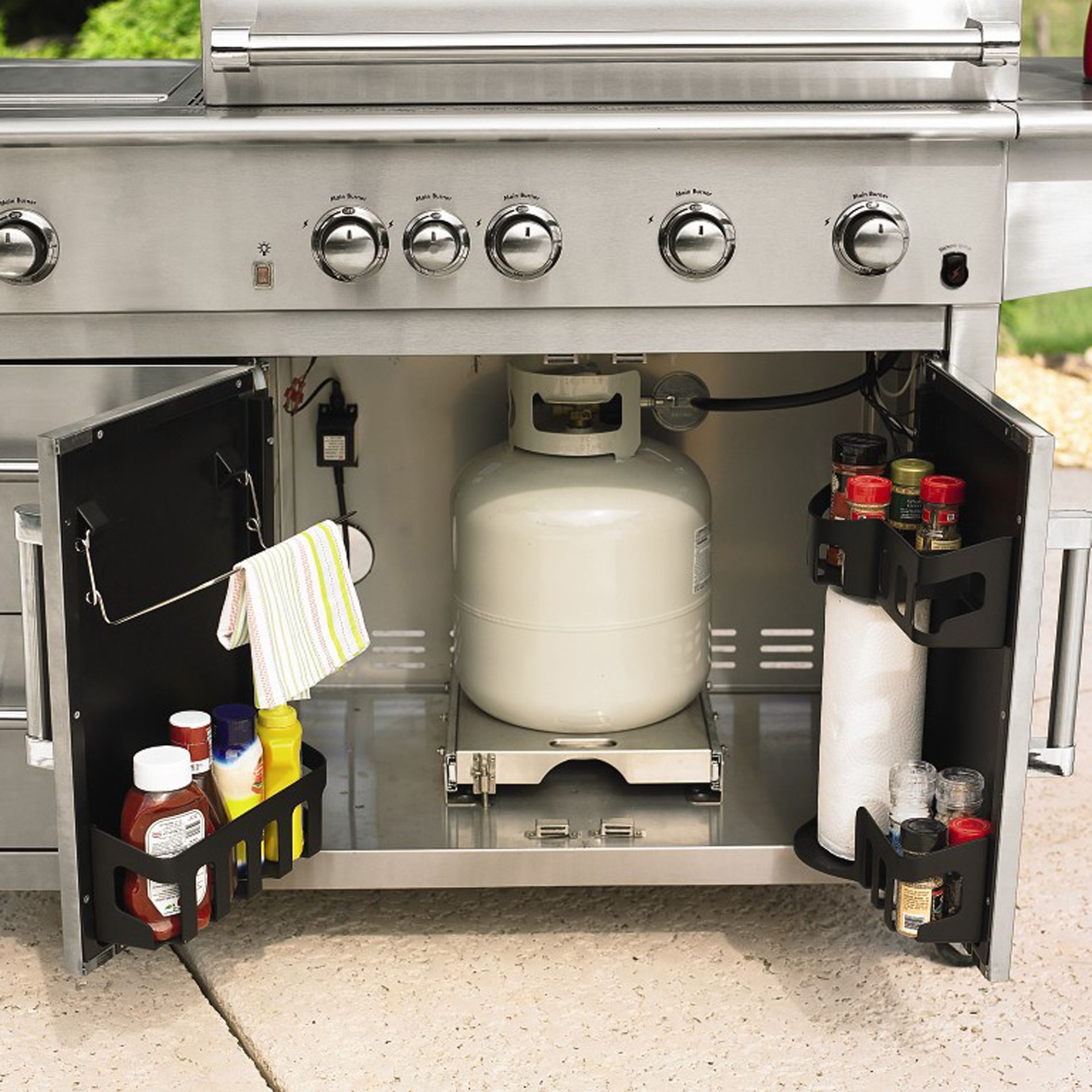 Kenmore Elite 4-Burner Industrial Grill