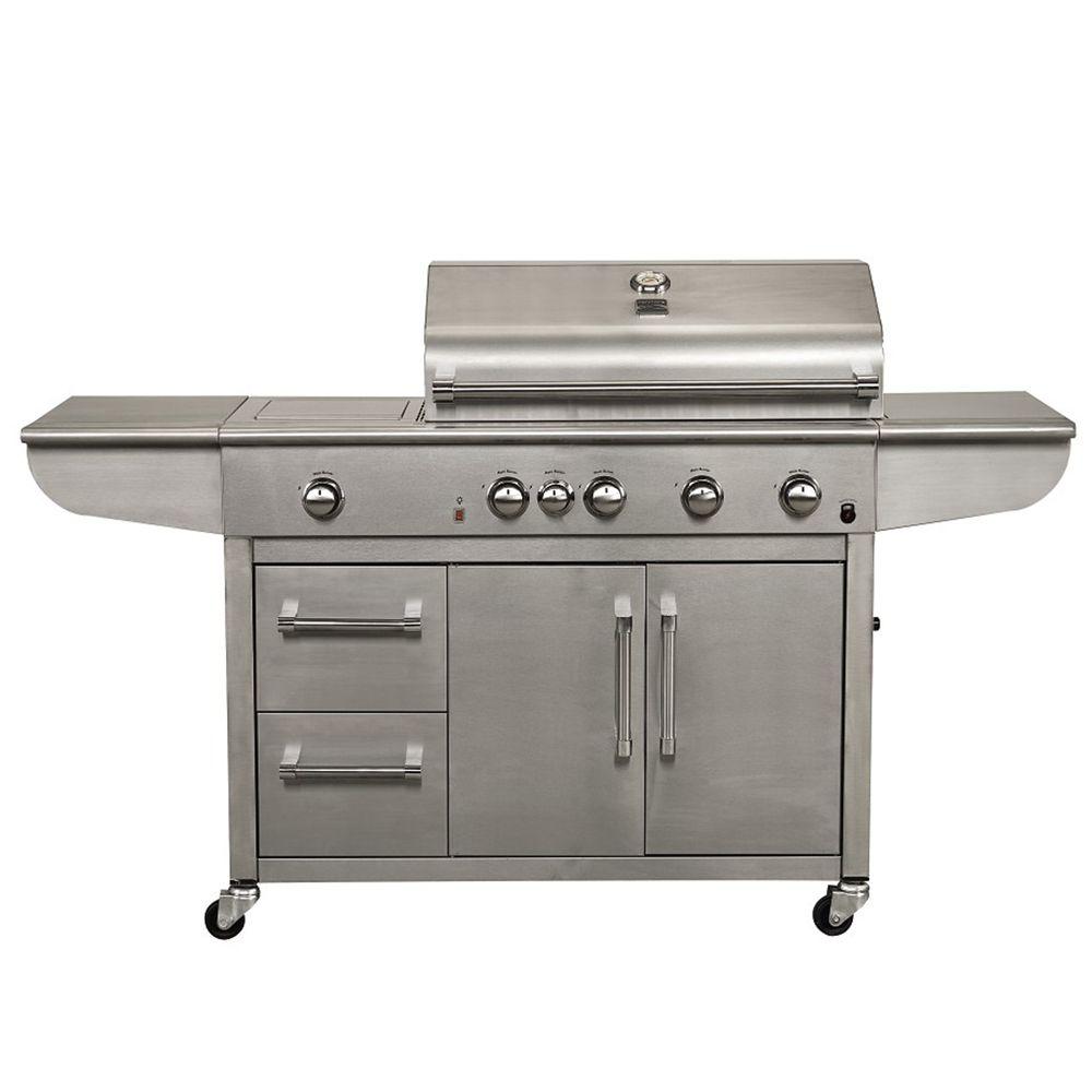 Kenmore Elite 4-Burner Industrial Grill