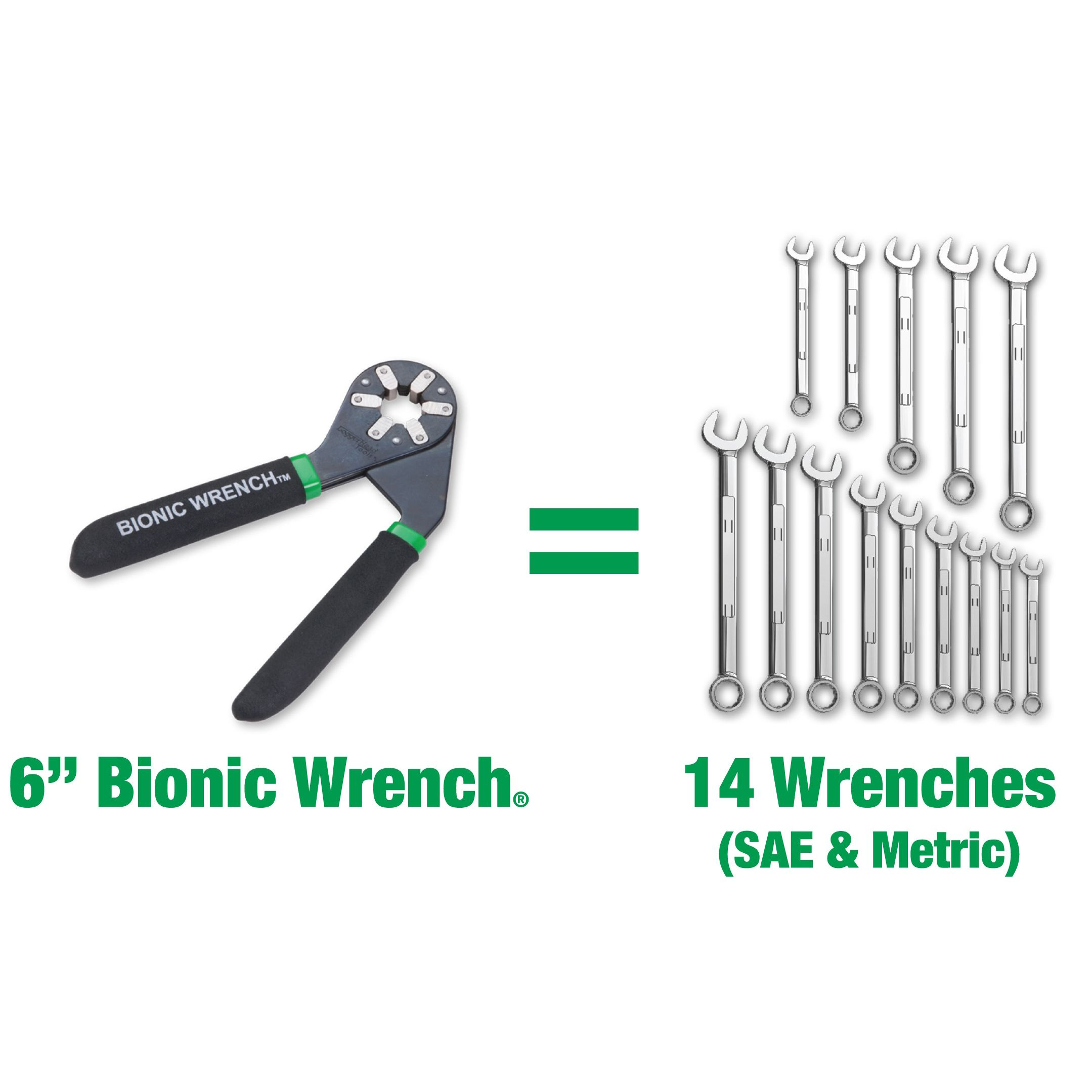 Loggerhead Tools 6 in. Bionic Wrench®