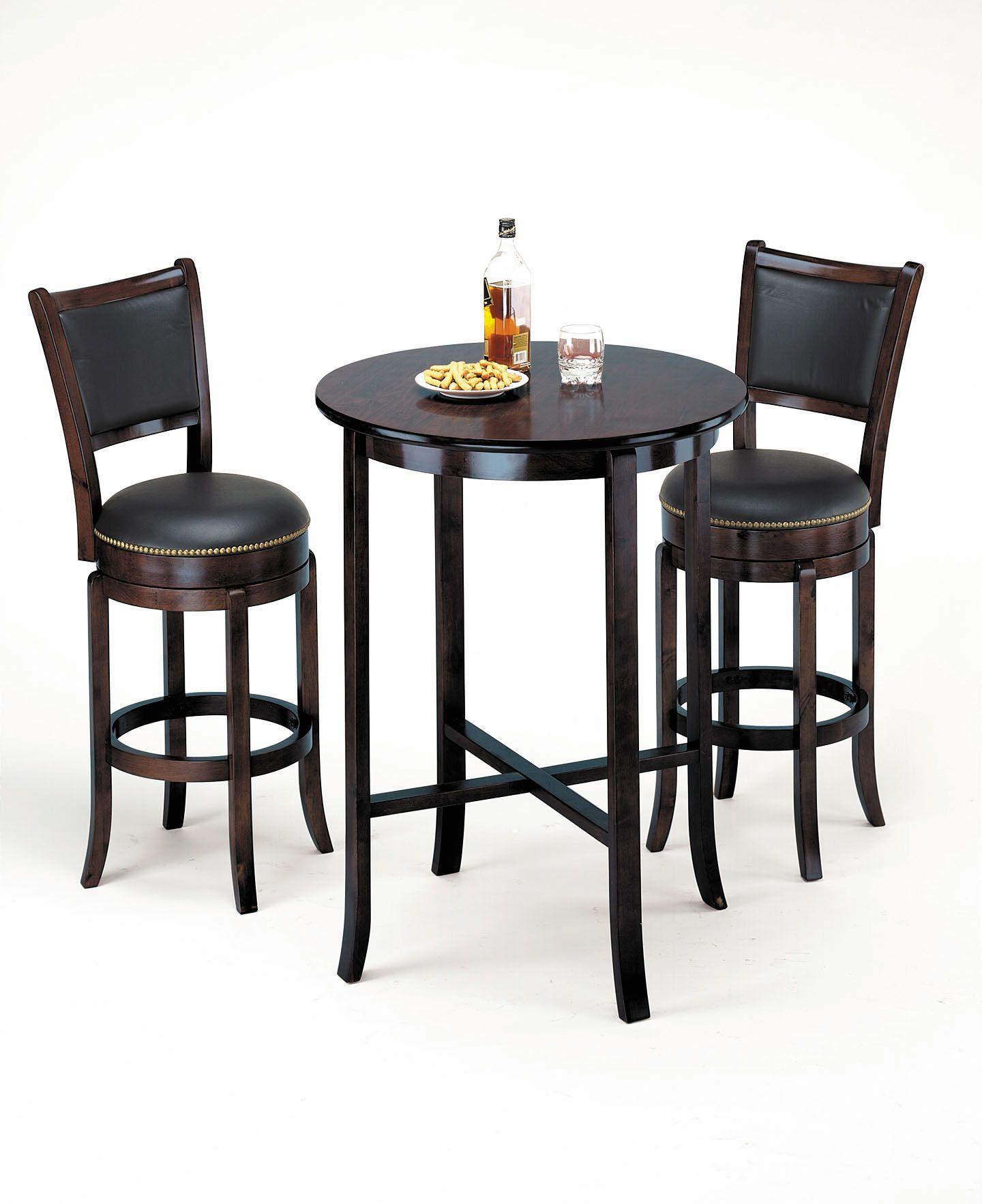Acme High Back Swivel Bar Chair