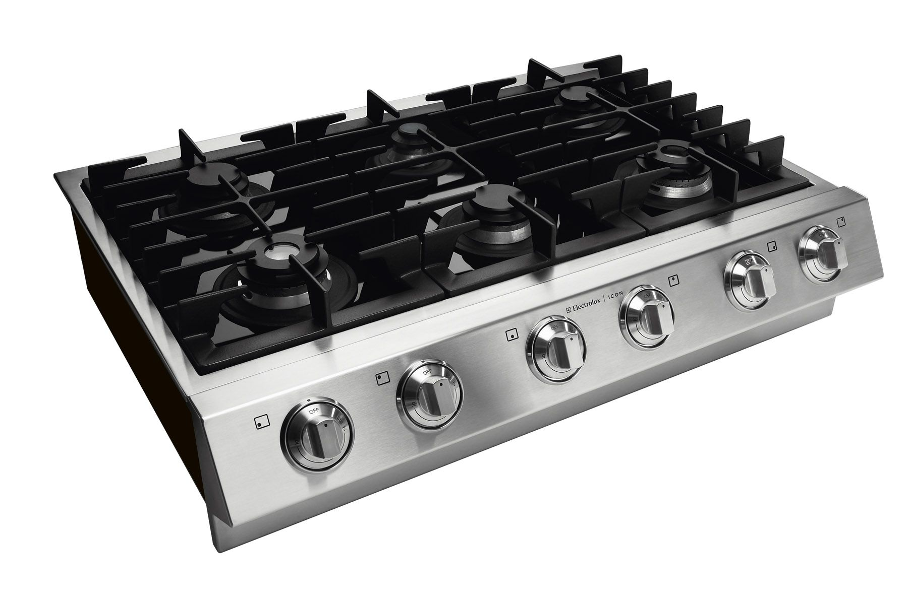 "Electrolux ICON 36"" Slide-In Gas Cooktop"