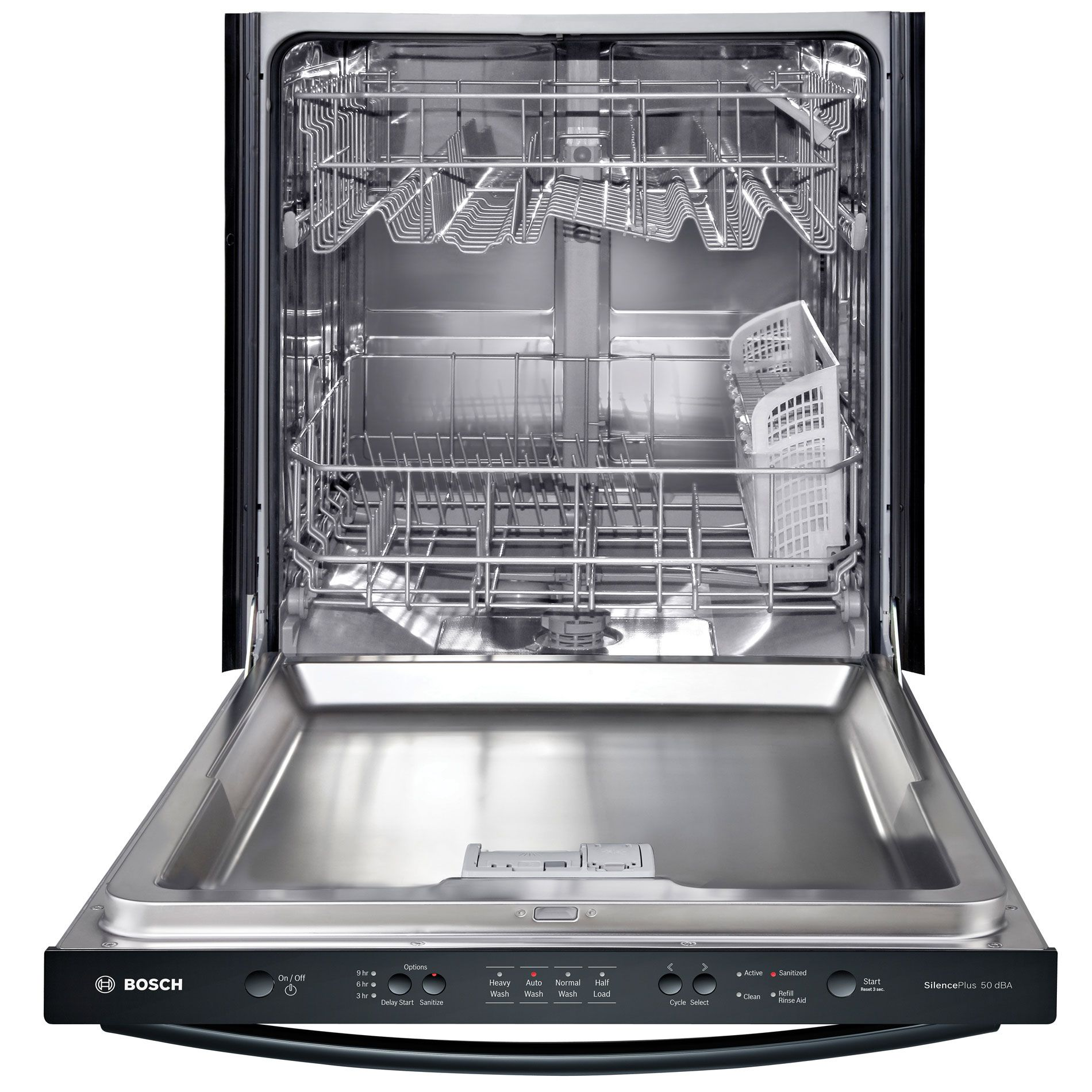 "Bosch 24"" Built-In Dishwasher - Black"