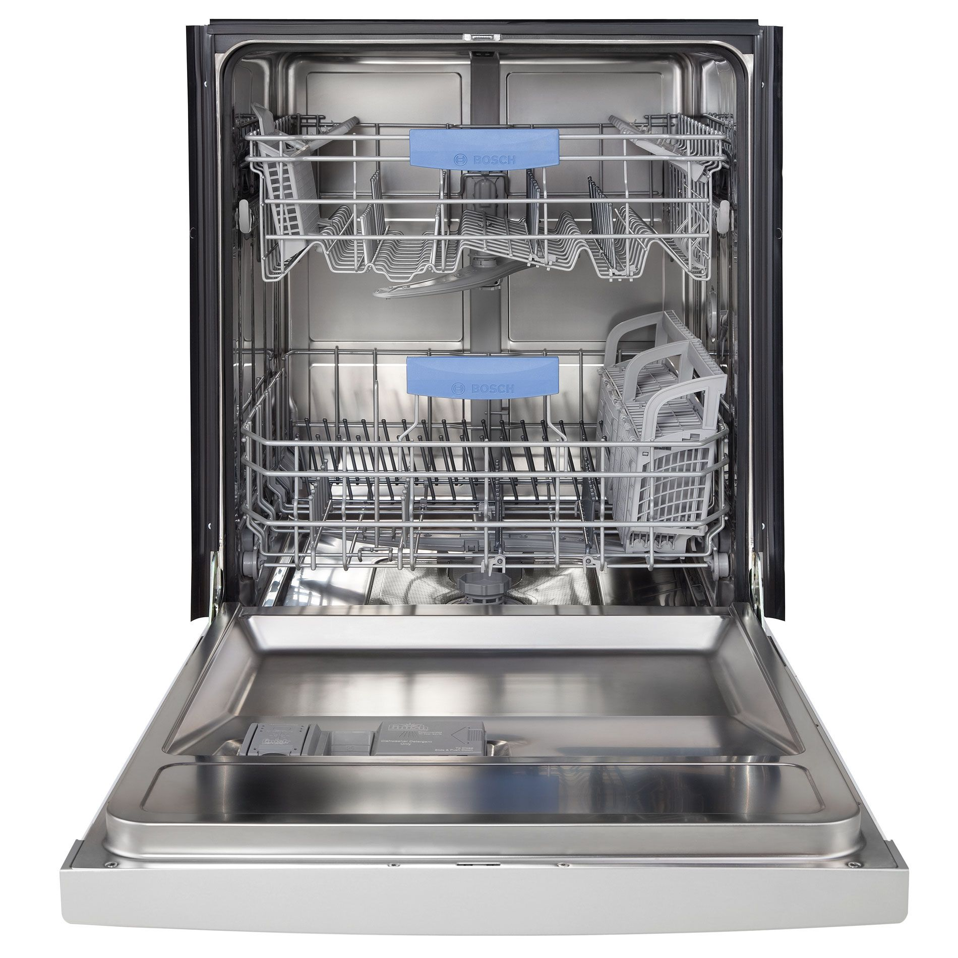 "Bosch 24"" Built-In Dishwasher - Stainless Steel"