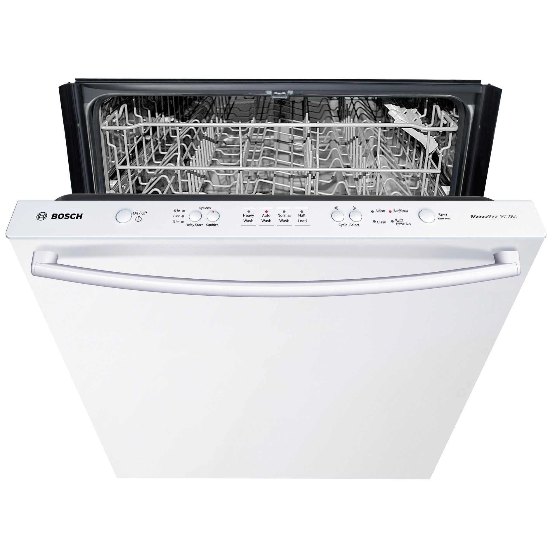 "Bosch 24"" Built-In Dishwasher  White"