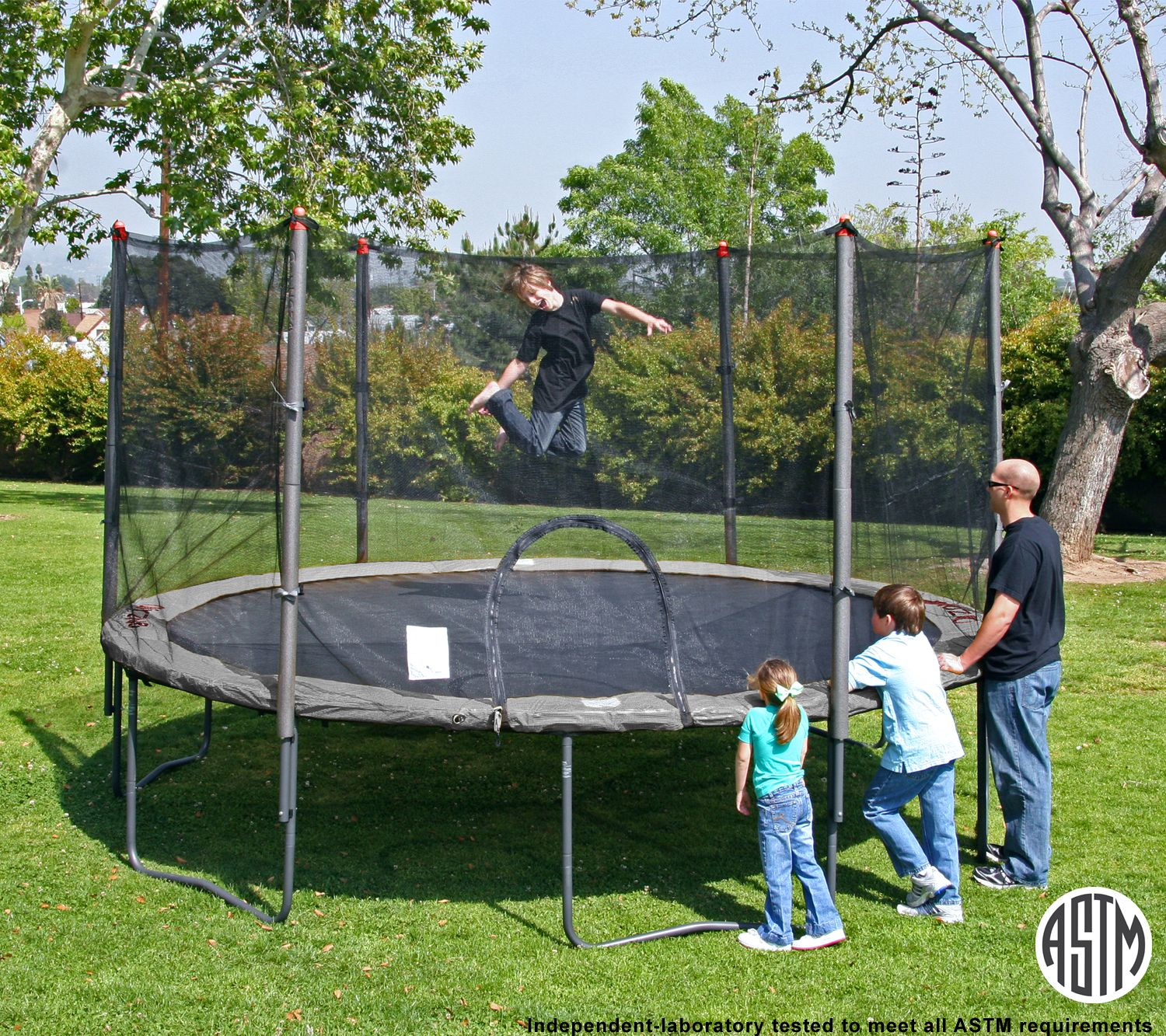 AirZone 14' Trampoline With Enclosure Combo