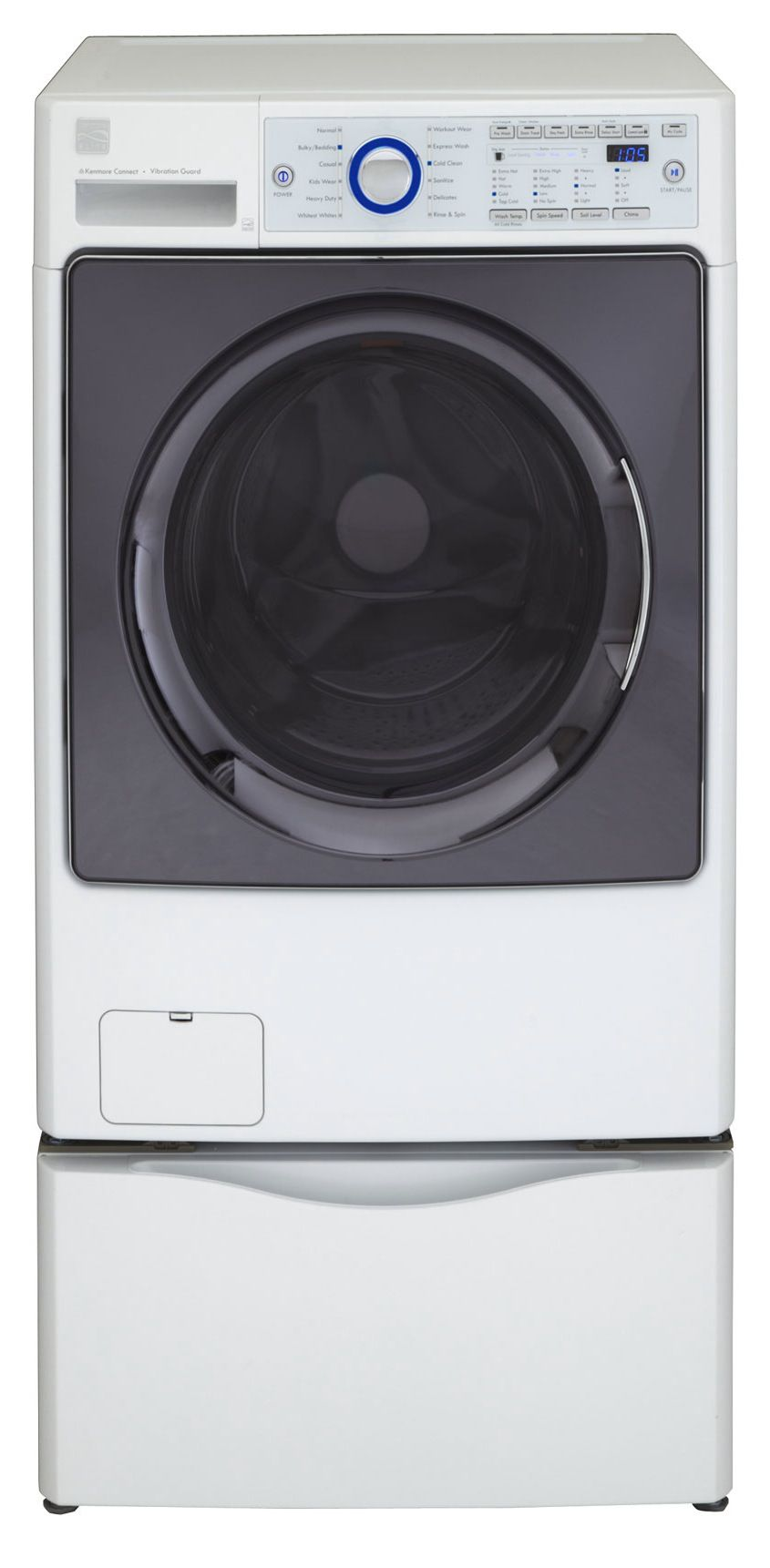 Kenmore Elite 4.3 cu. ft. Front-Load HE Washer - White