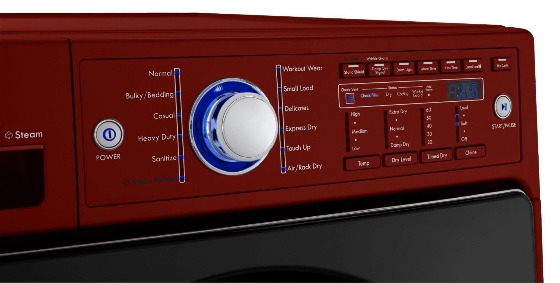 Kenmore Elite 7.4 cu. ft. Steam Dryer - Chili Pepper