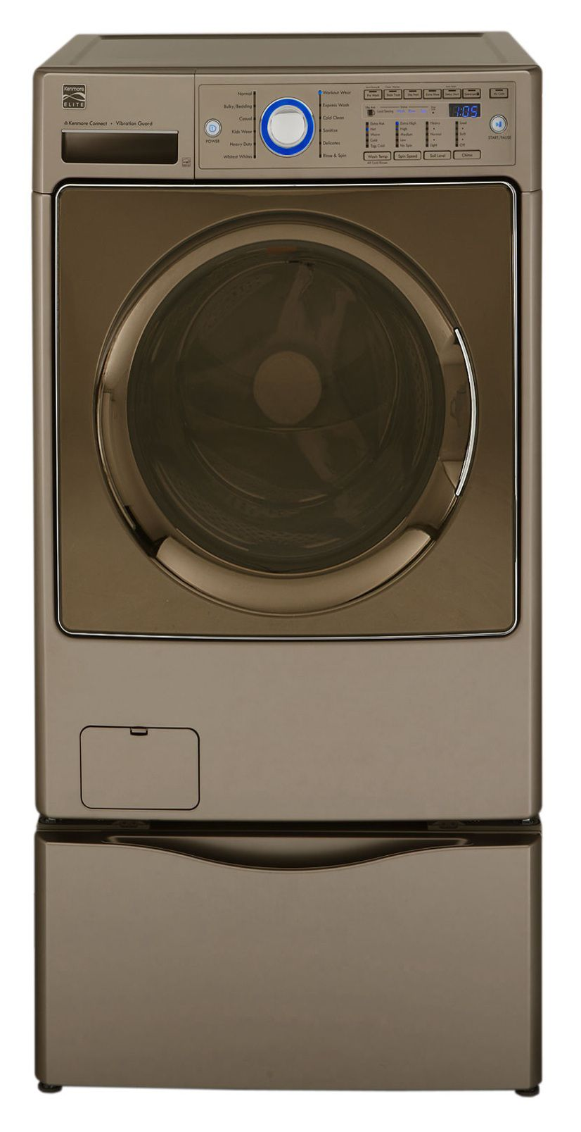 Kenmore Elite 4.3 cu. ft. Front-Load HE Washer - Ginger
