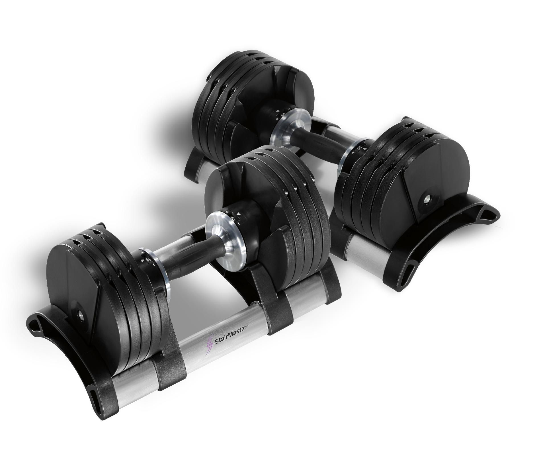StairMaster TwistLock Adjustable Dumbbells