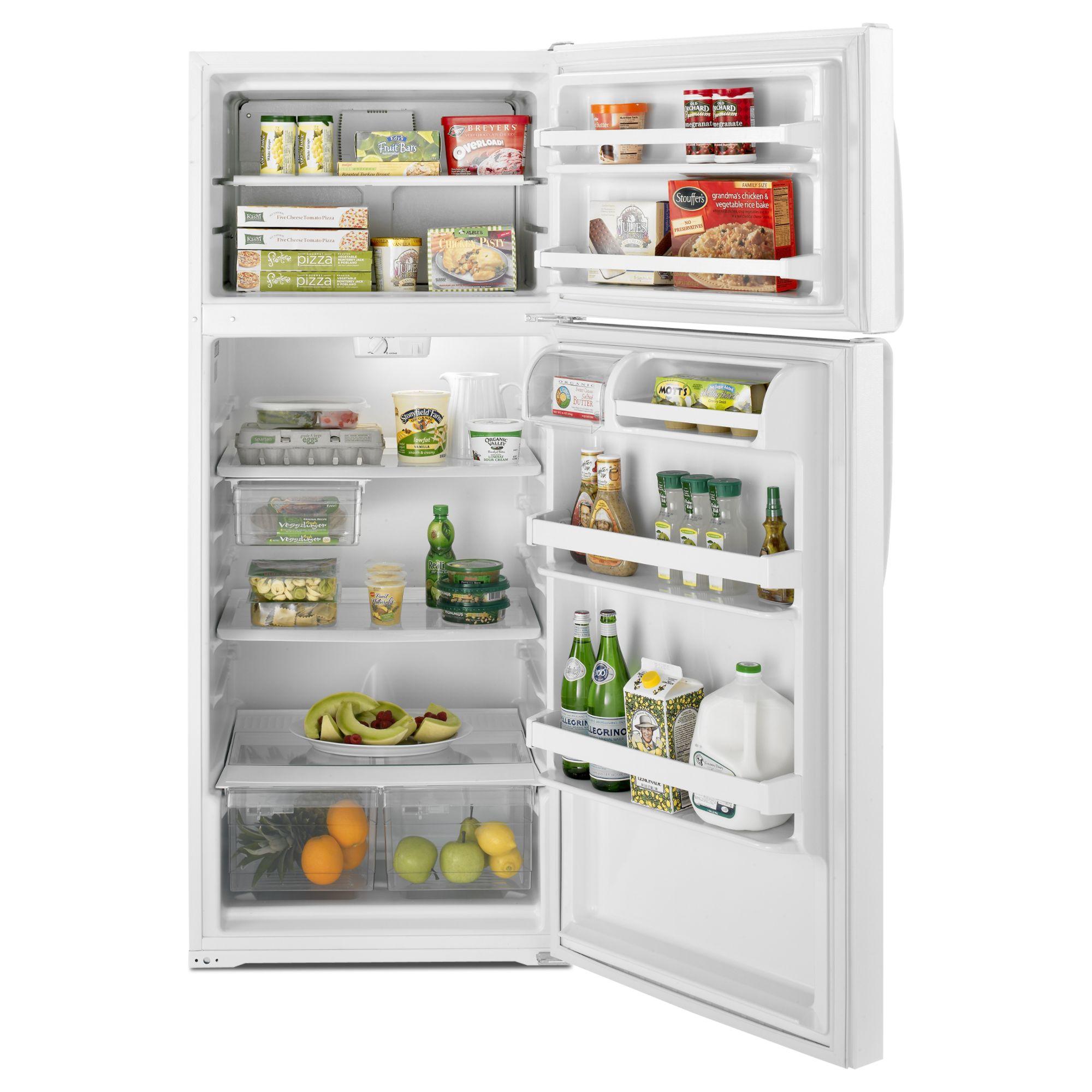 Whirlpool 16 cu. ft. Top-Freezer Refrigerator - White