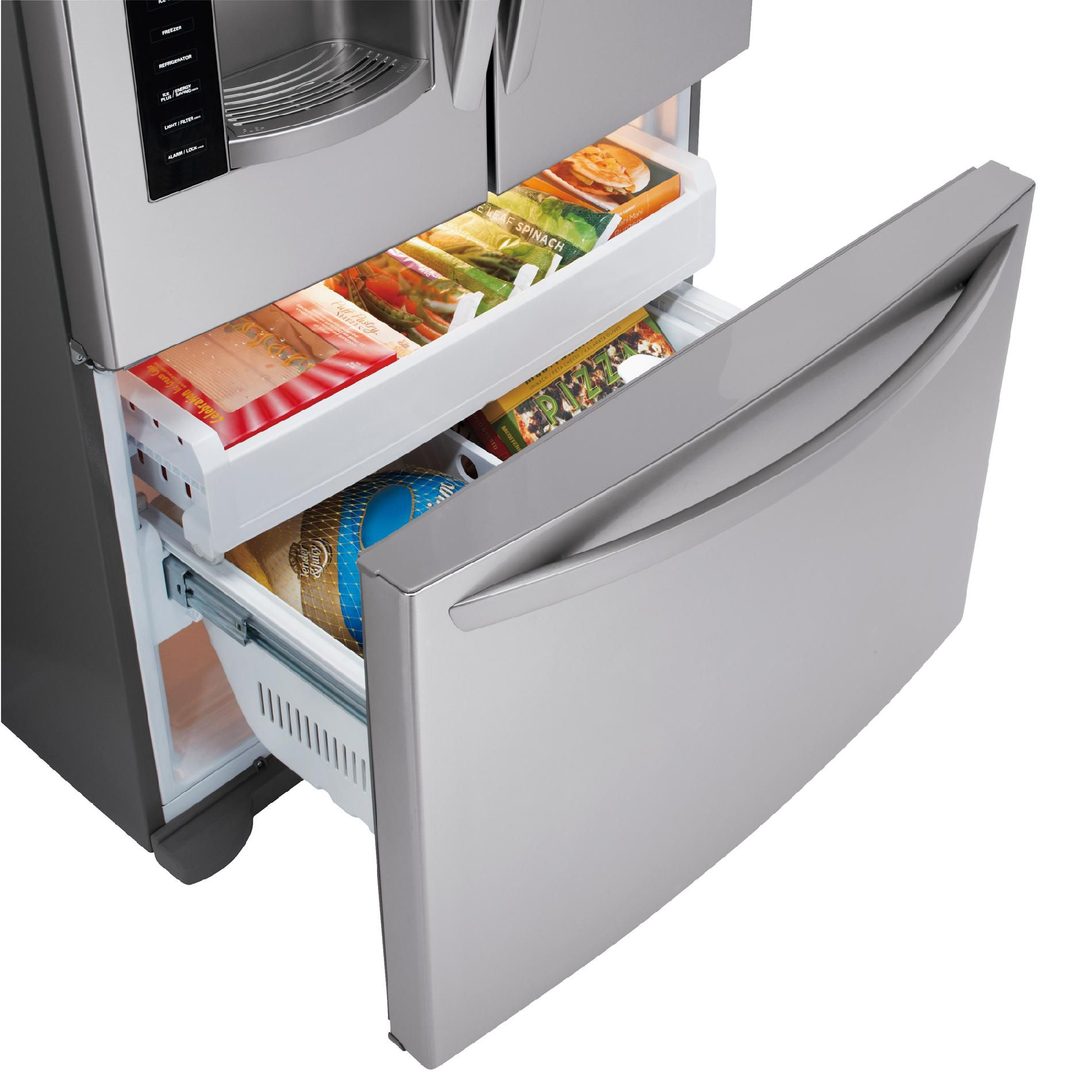 LG 24.7 cu. ft.  French Door Bottom-Freezer Refrigerator