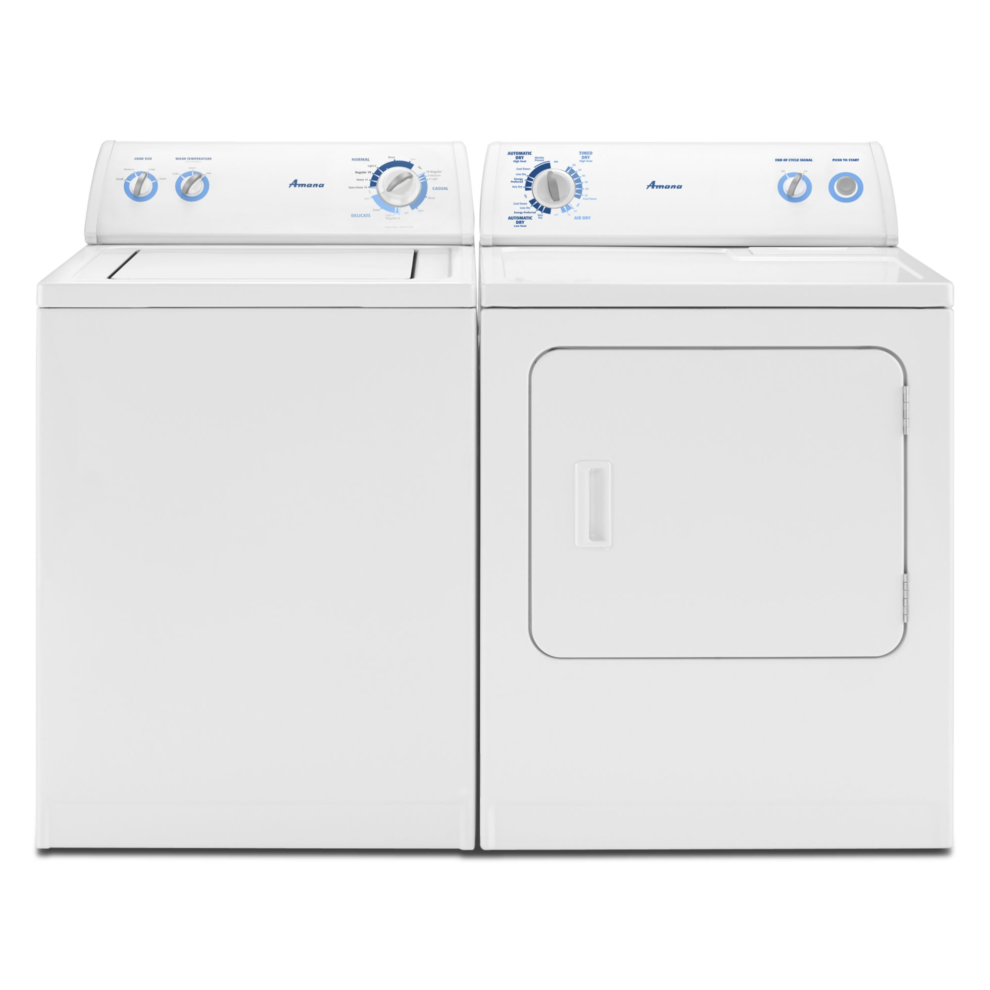 Amana DRYER TOP LOAD-WHITE