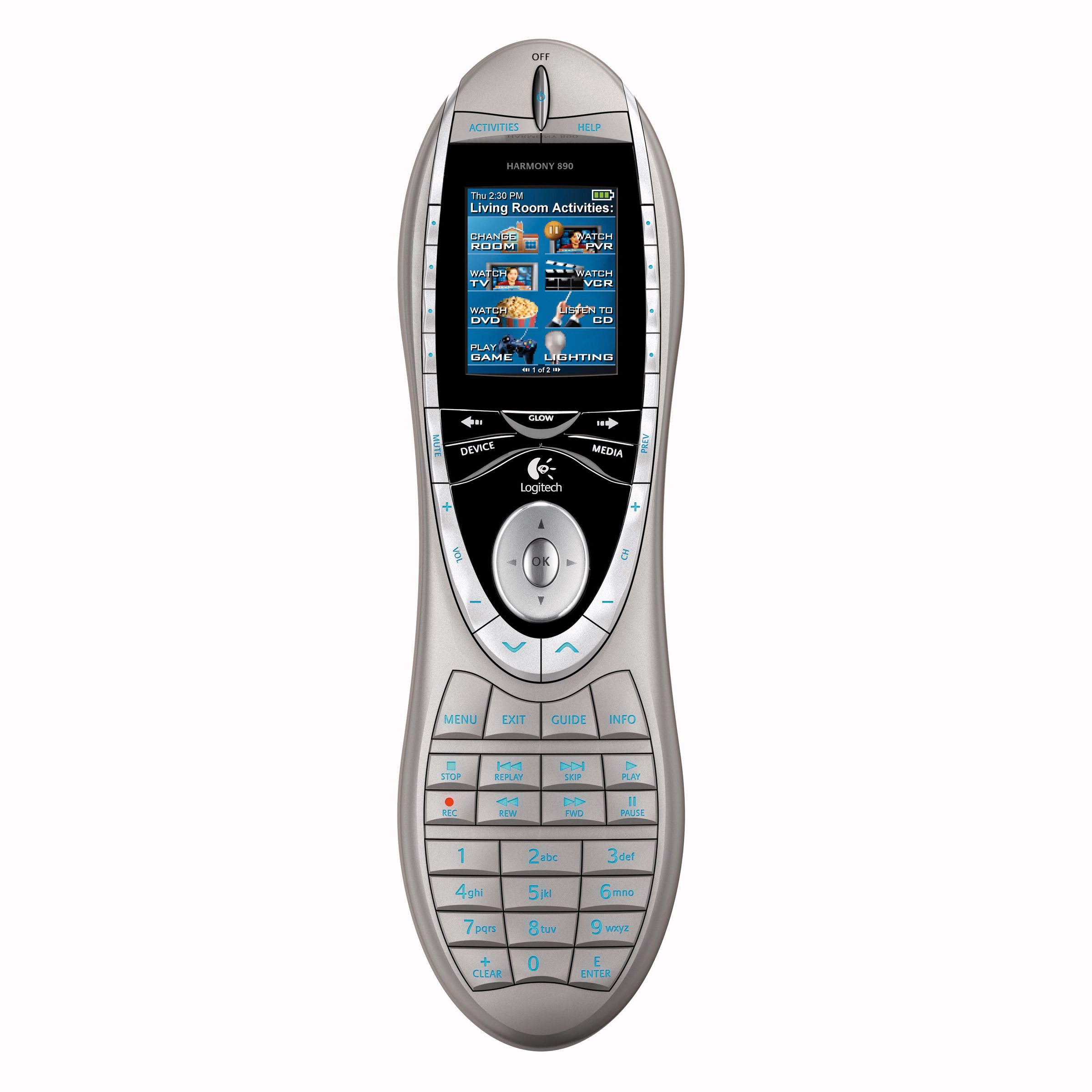 Logitech Harmony® 890 Advanced Universal Remote