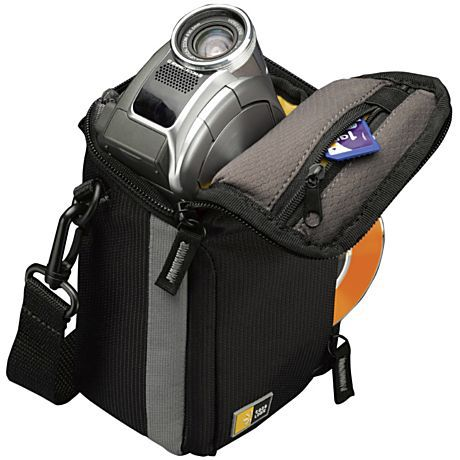 Case Logic Compact Camcorder / High Zoom Camera Case - Black