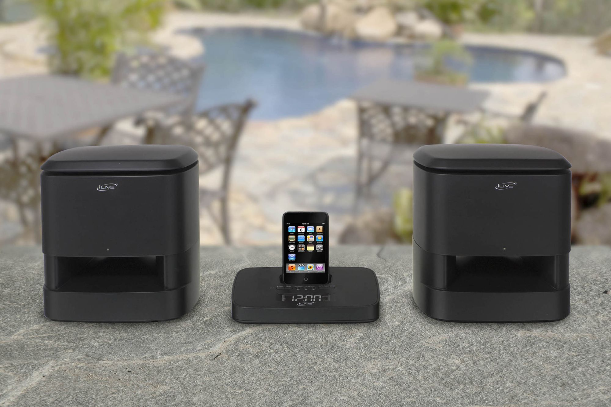 iLive Wireless Music System w/ iPod® Dock