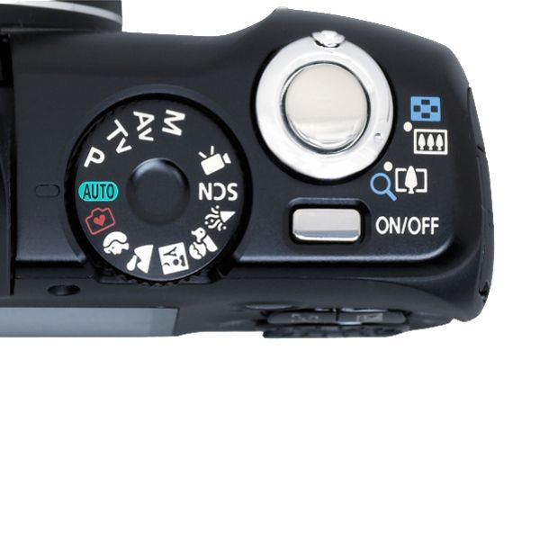 "Canon 3634B001/SX120 PowerShot 10.0 Megapixel Digital Camera 10X Optical Zoom w/ 3"" Screen - Black"