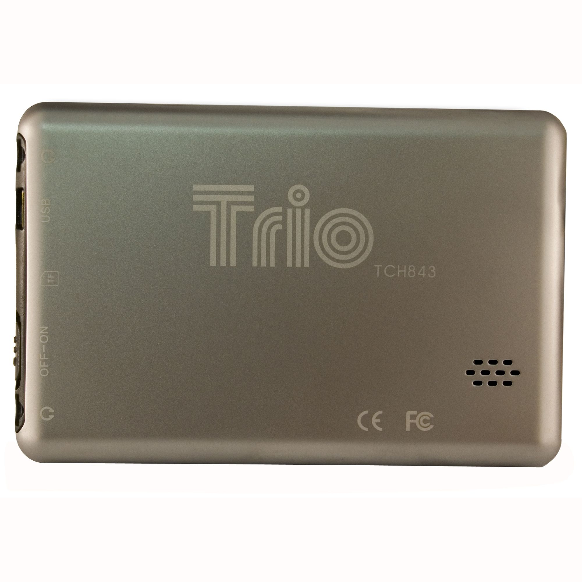 Mach Speed Trio 8GB 4.3 in. Touchscreen Display Video MP3 Player