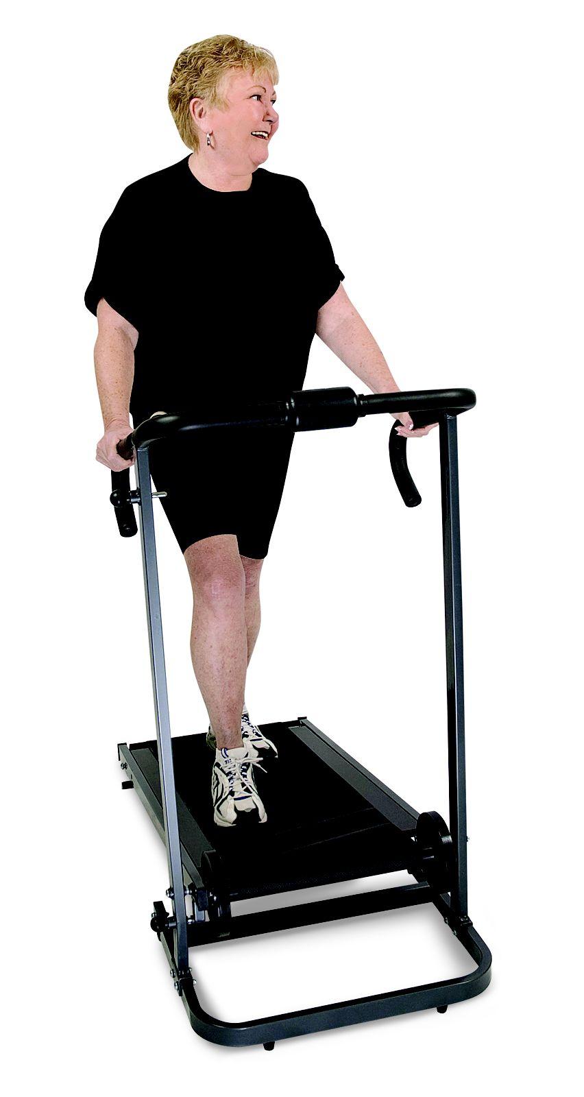 Elite Fitness Deluxe Manual Treadmill