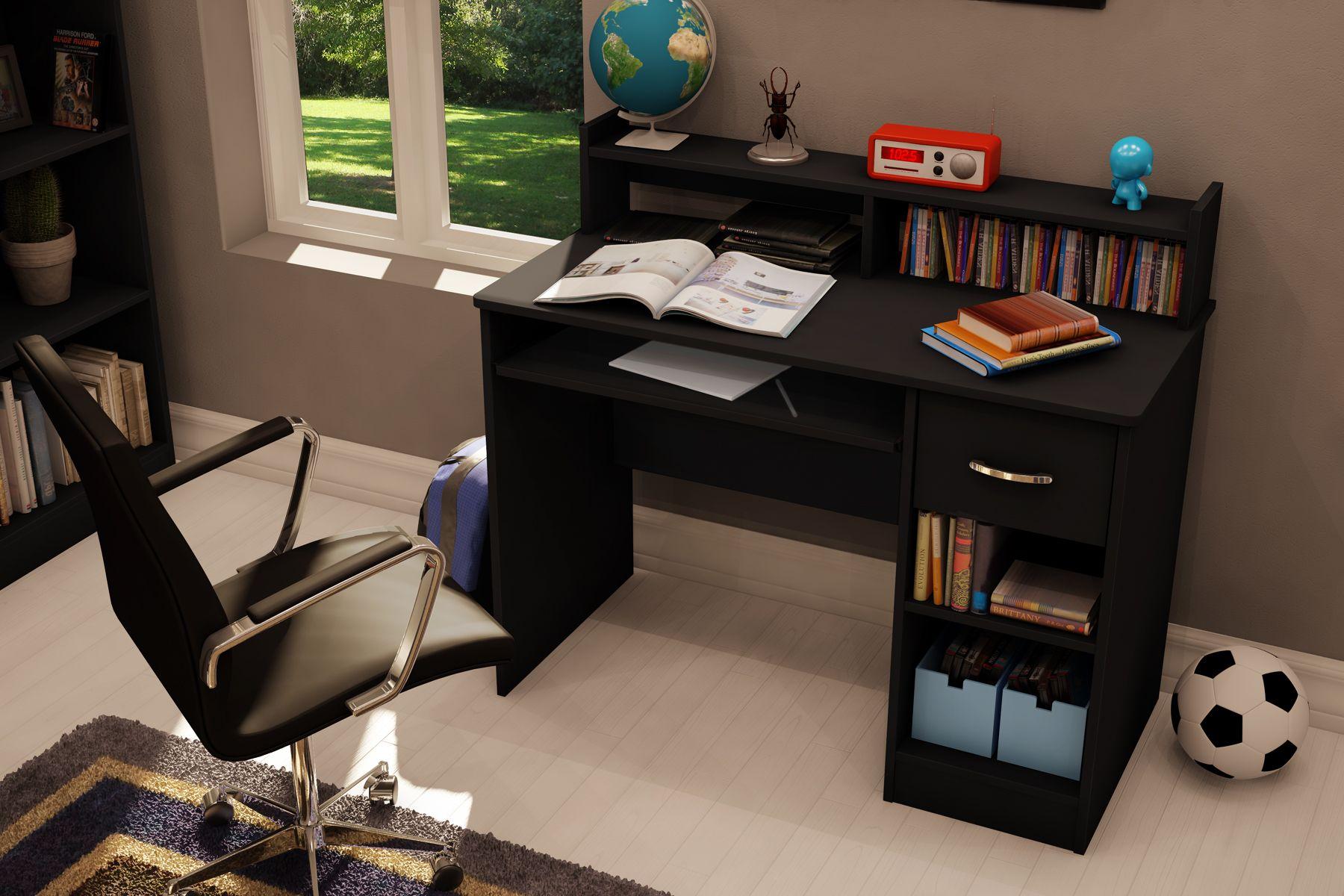 South Shore Axess Small Desk - Black