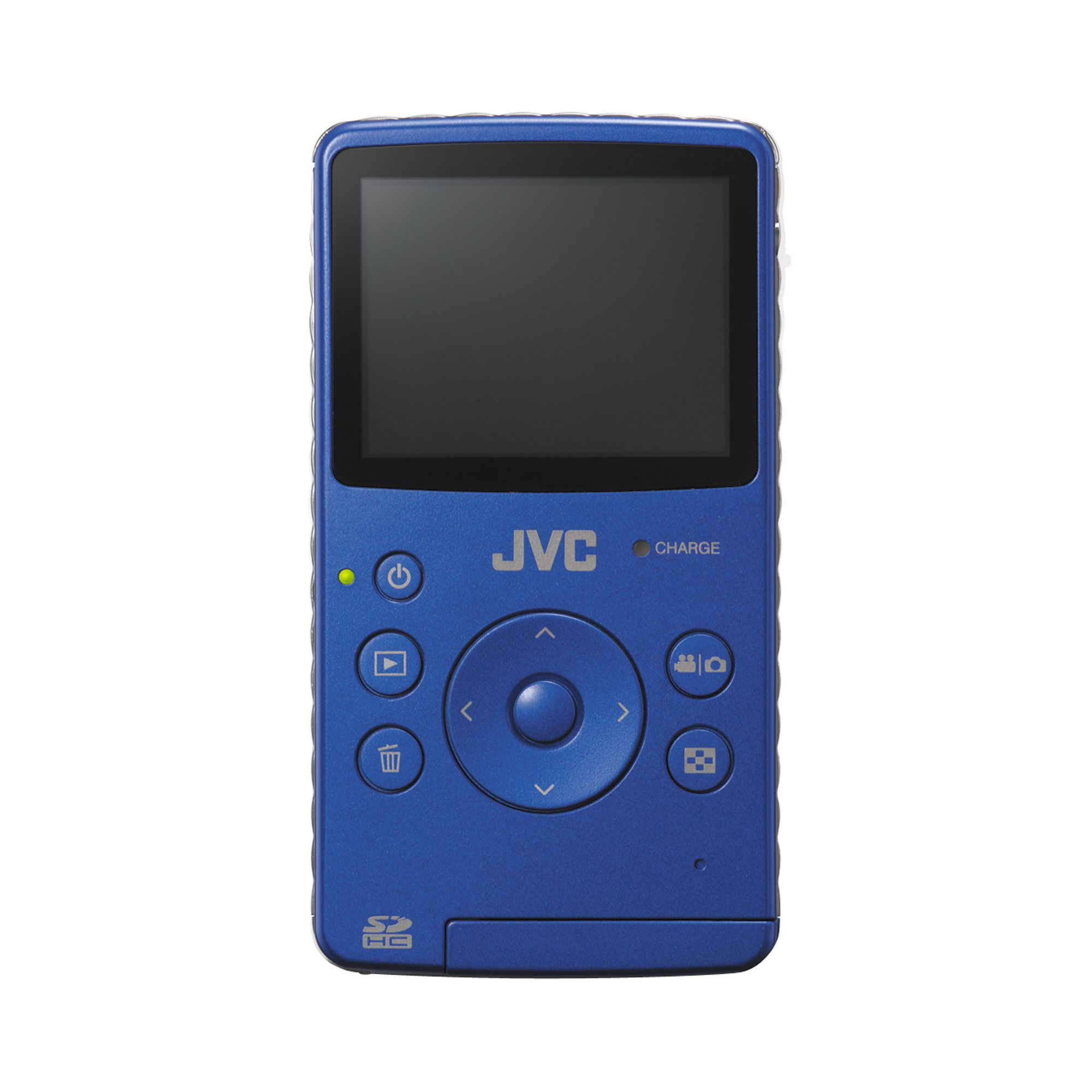 JVC Picsio Pocket Flash Memory Camcorder - Blue
