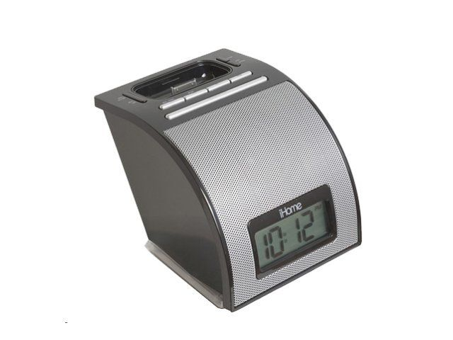 iHOME iP11 Spacesaver Alarm Clock for iPhone, iPod