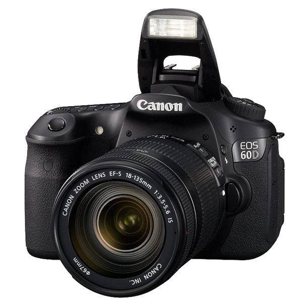 Canon EOS 60D - Digital camera - SLR - 18.0 MP - 7.5 x optical zoom EF-S 18-135mm IS lens