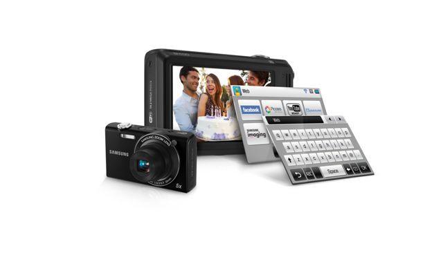 Samsung SH100 14.2 Megapixel Wi-Fi Enabled Digital Camera- Black