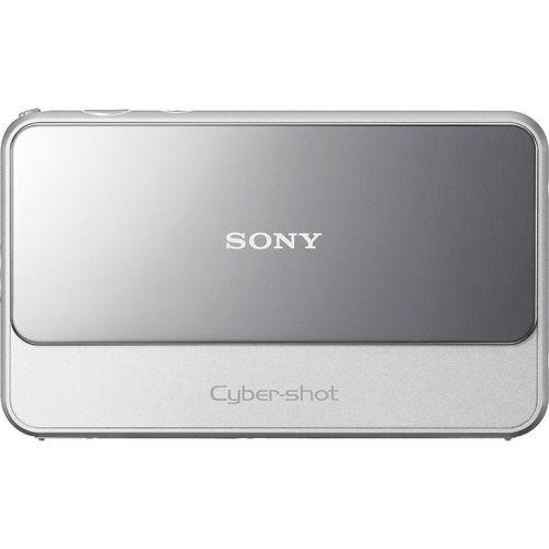 Sony Cyber-shot DSC-T110 - Digital camera - compact - 16.1 MP - 4 x optical zoom - silver