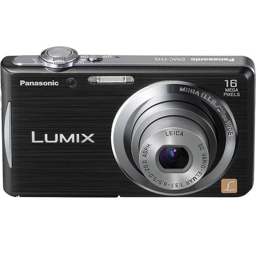 Panasonic Lumix DMC-FH5K 16.1 Megapixel Digital Camera- Black