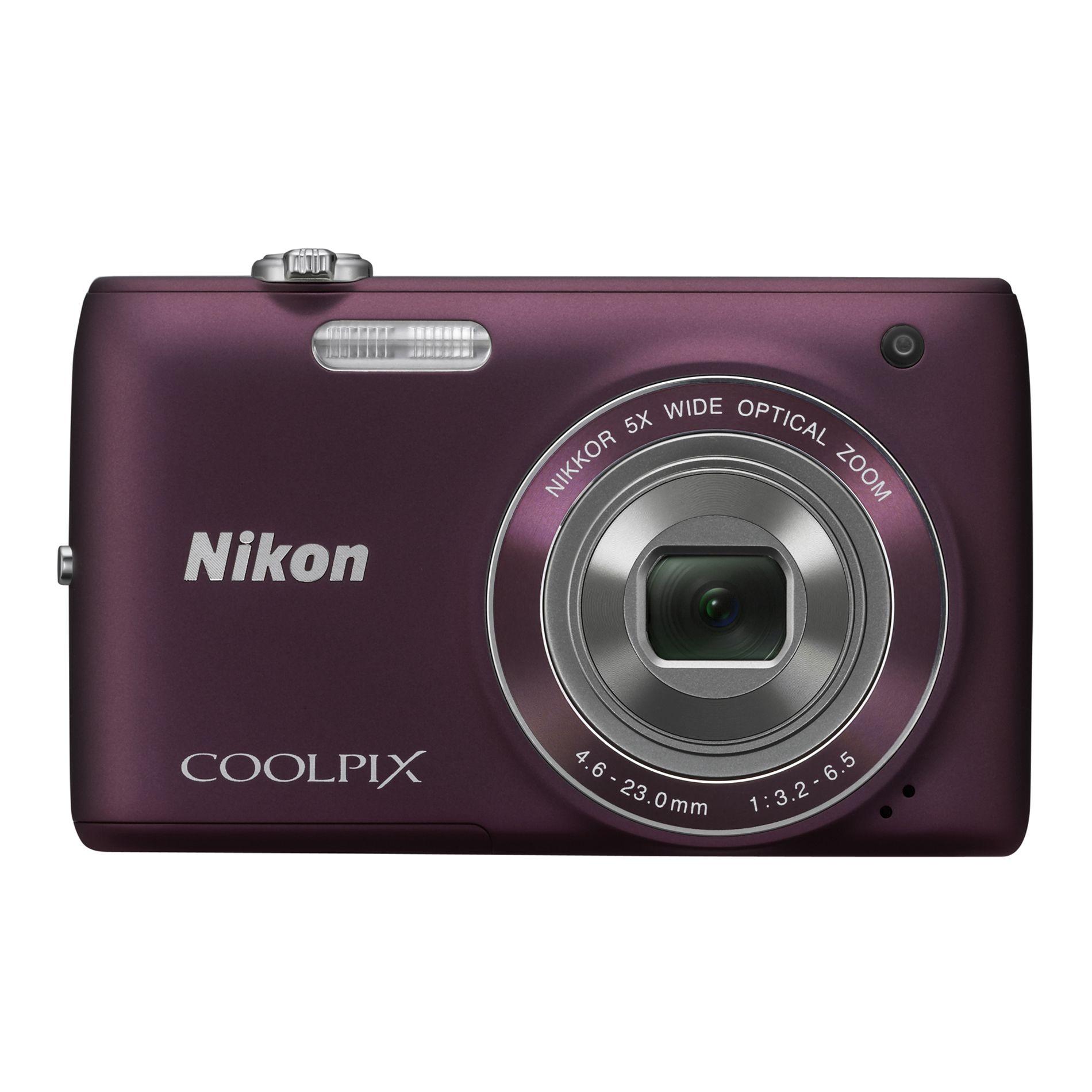 Nikon CoolPix S4100 Digital Camera MD Kit - Plum