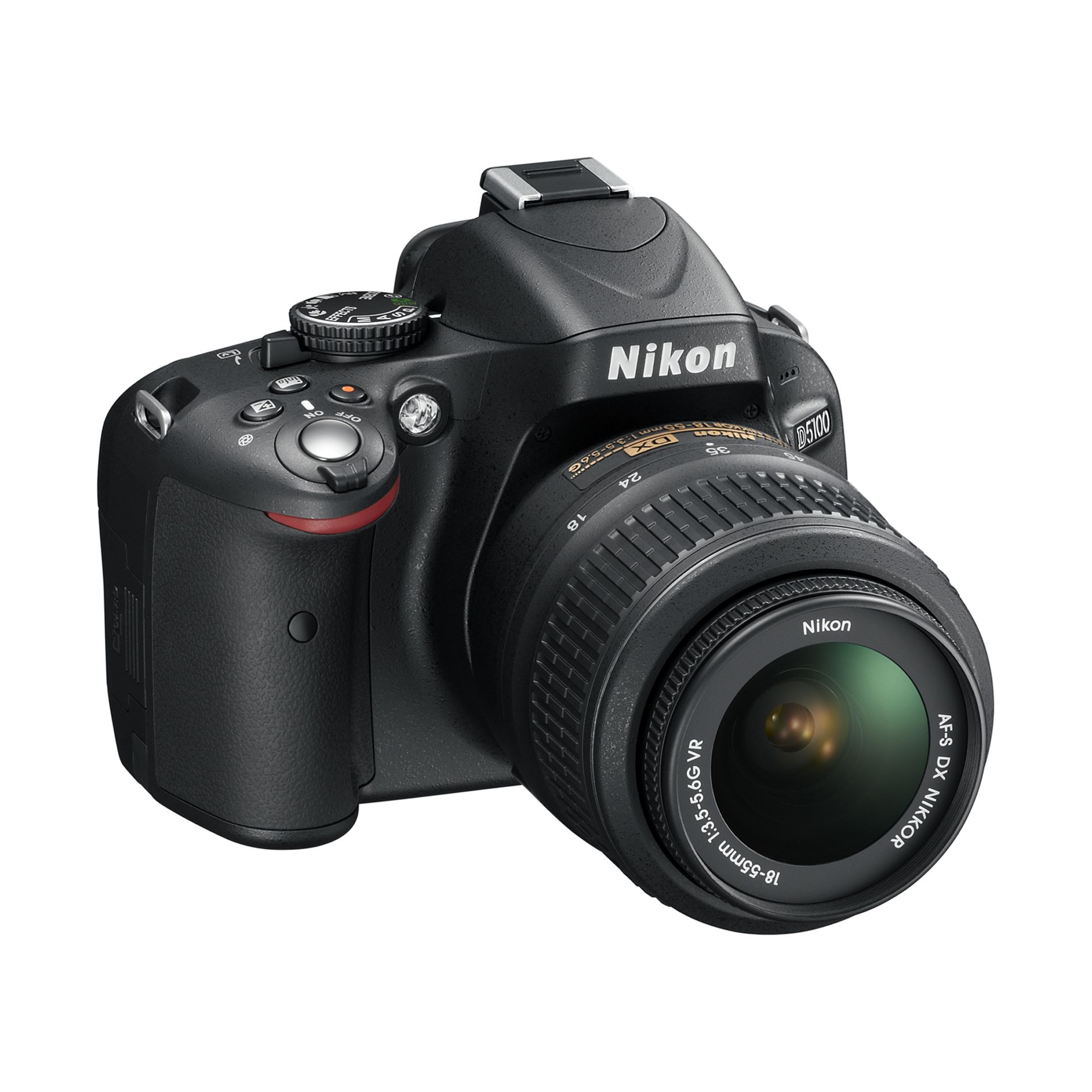 Nikon 16.2-Megapixel D5100 Digital SLR Camera with 18-55mm Lens