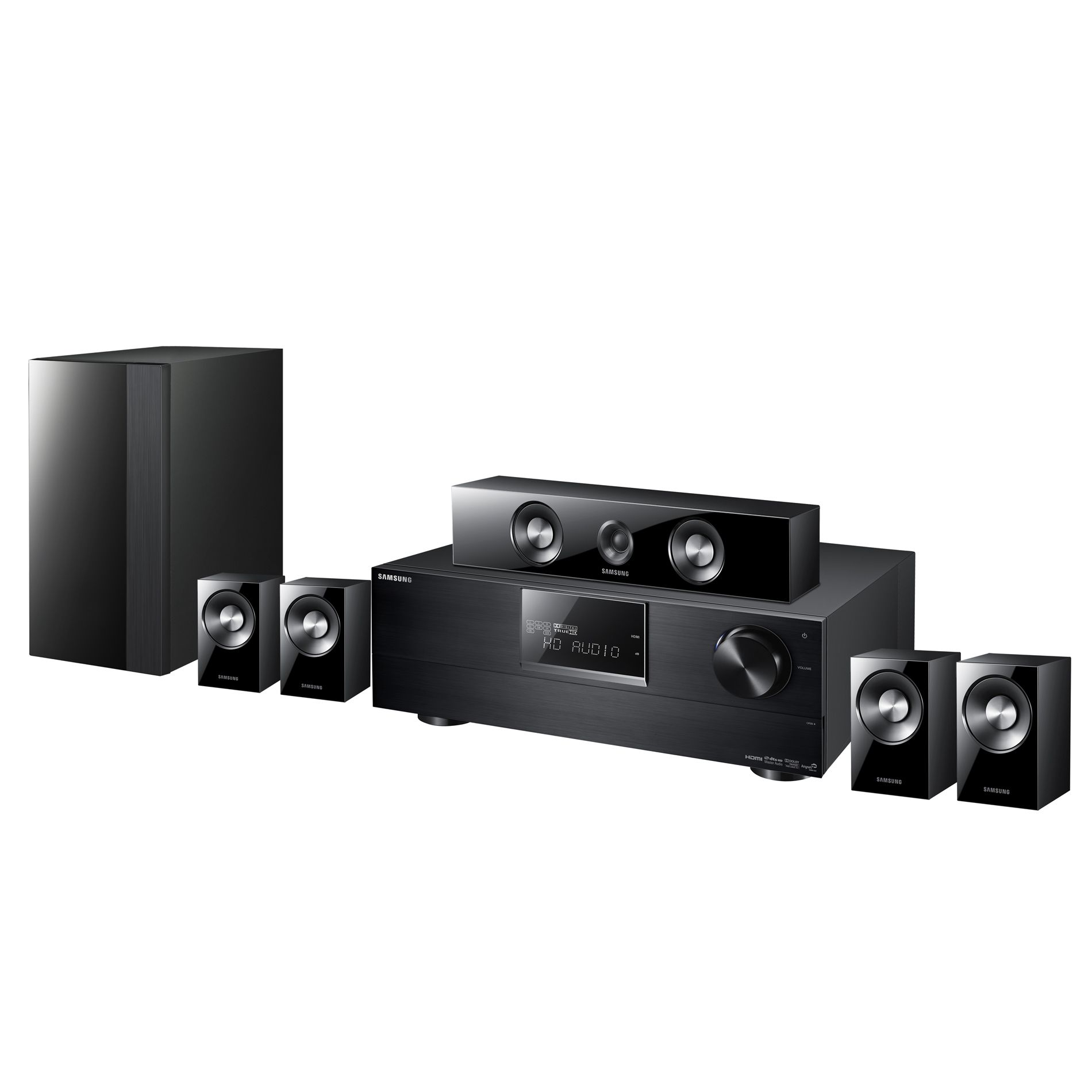 Samsung Receiver-Based 5.1 Channel Home Theater System