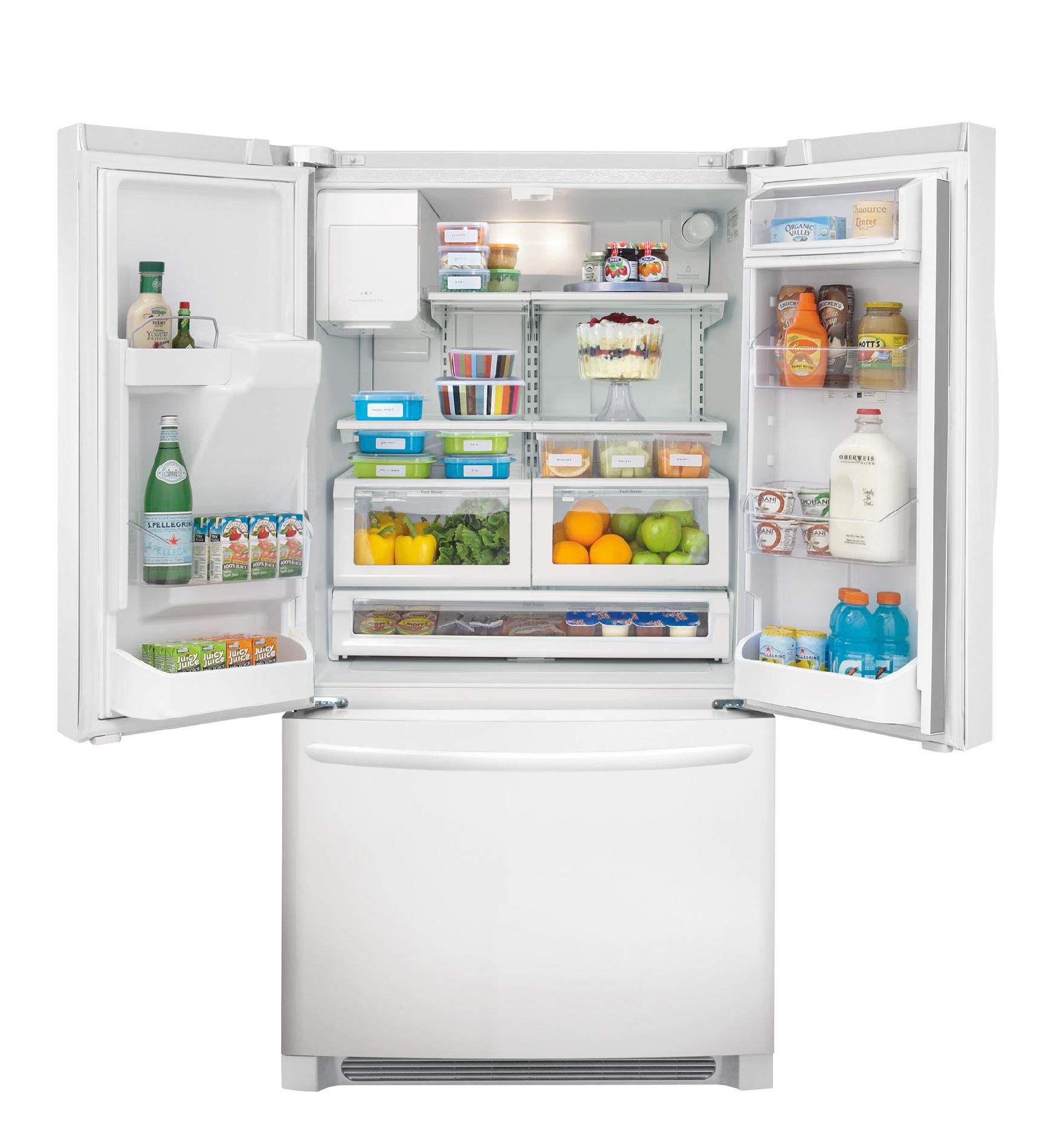 Frigidaire 22.6 cu. ft. French-Door Counter-Depth Refrigerator - White