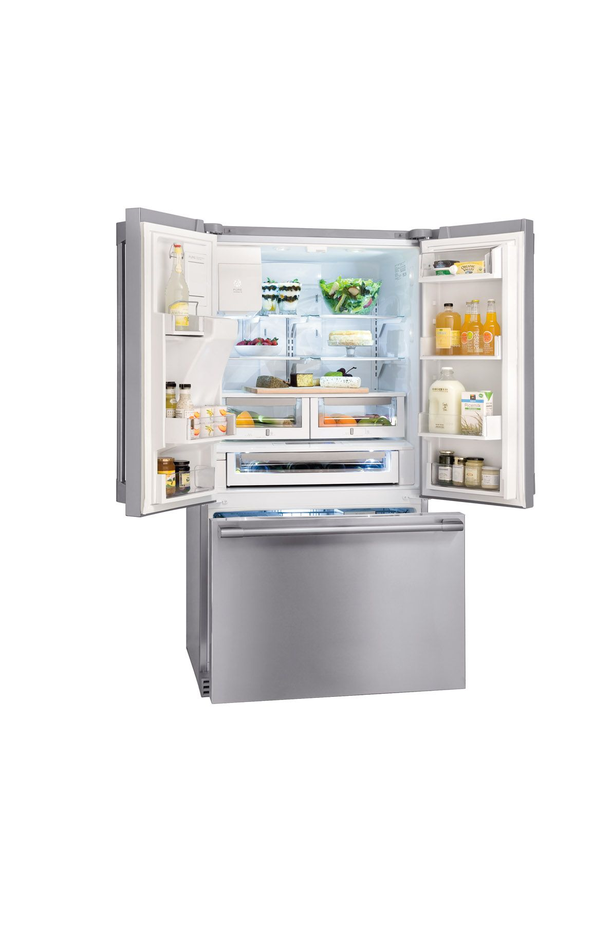 Electrolux ICON E23BC78IPS 22.6 cu. ft. Counter-Depth French-Door Bottom Freezer Refrigerator - Stainless Steel