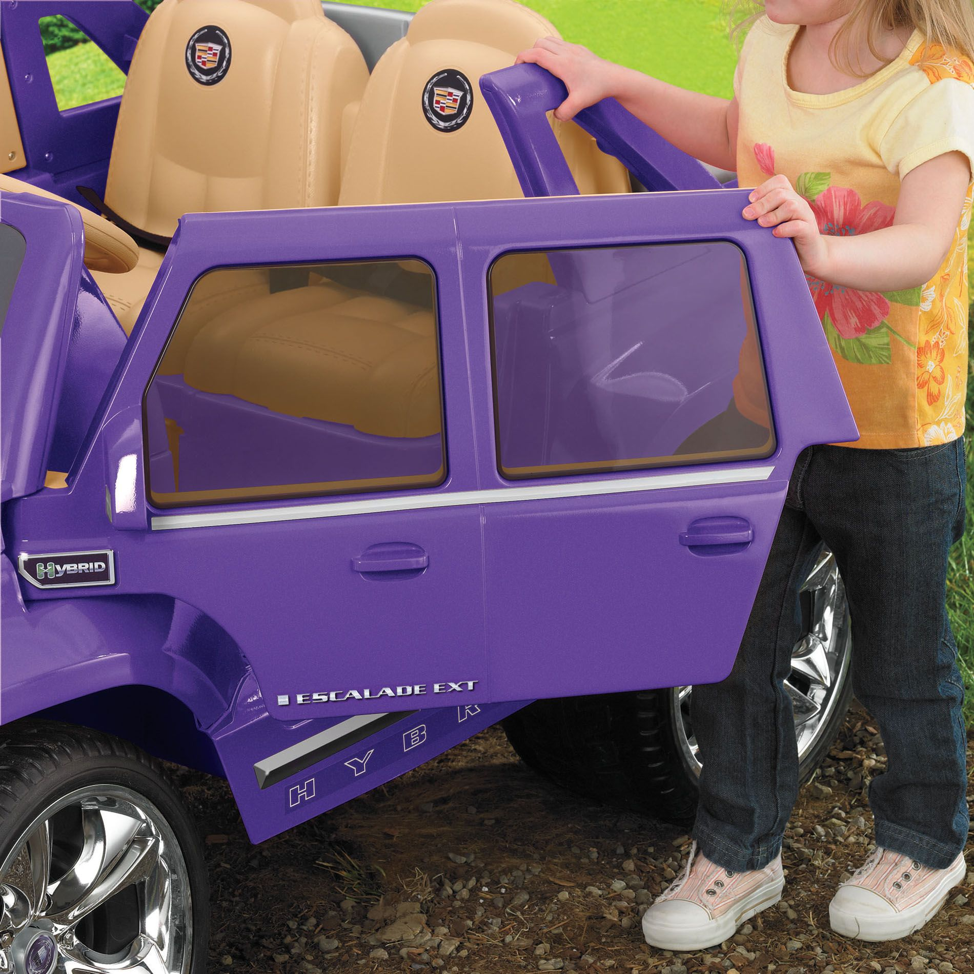 Power Wheels Power Wheels Purple Cadillac Escalade